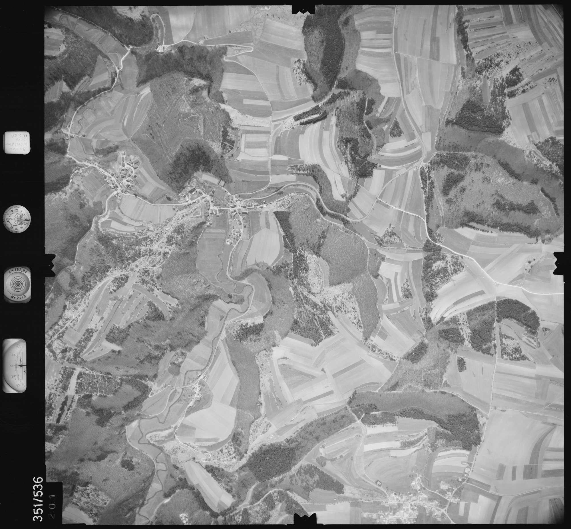 Luftbild: Film 105 Bildnr. 201, Bild 1