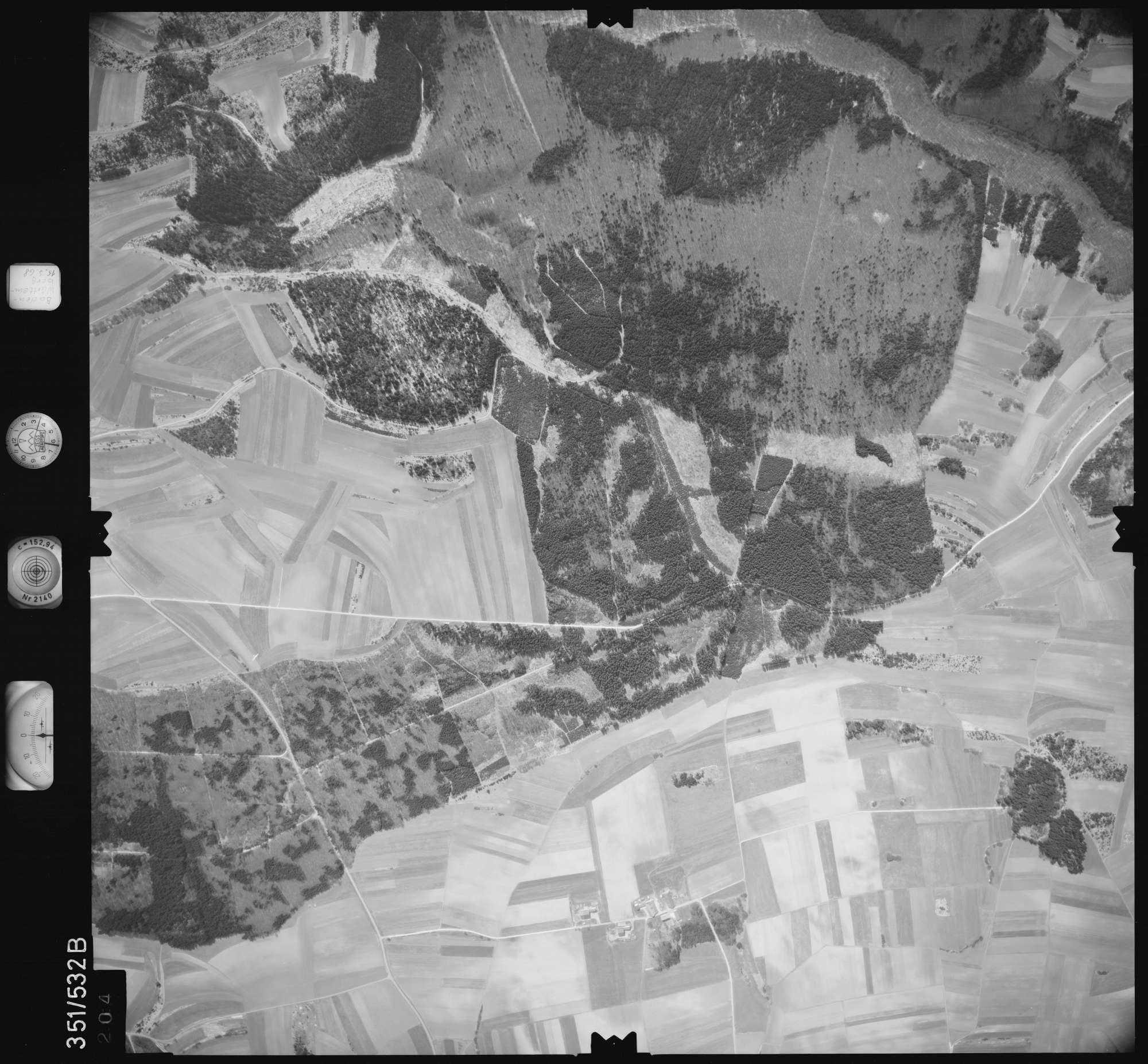 Luftbild: Film 105 Bildnr. 204, Bild 1