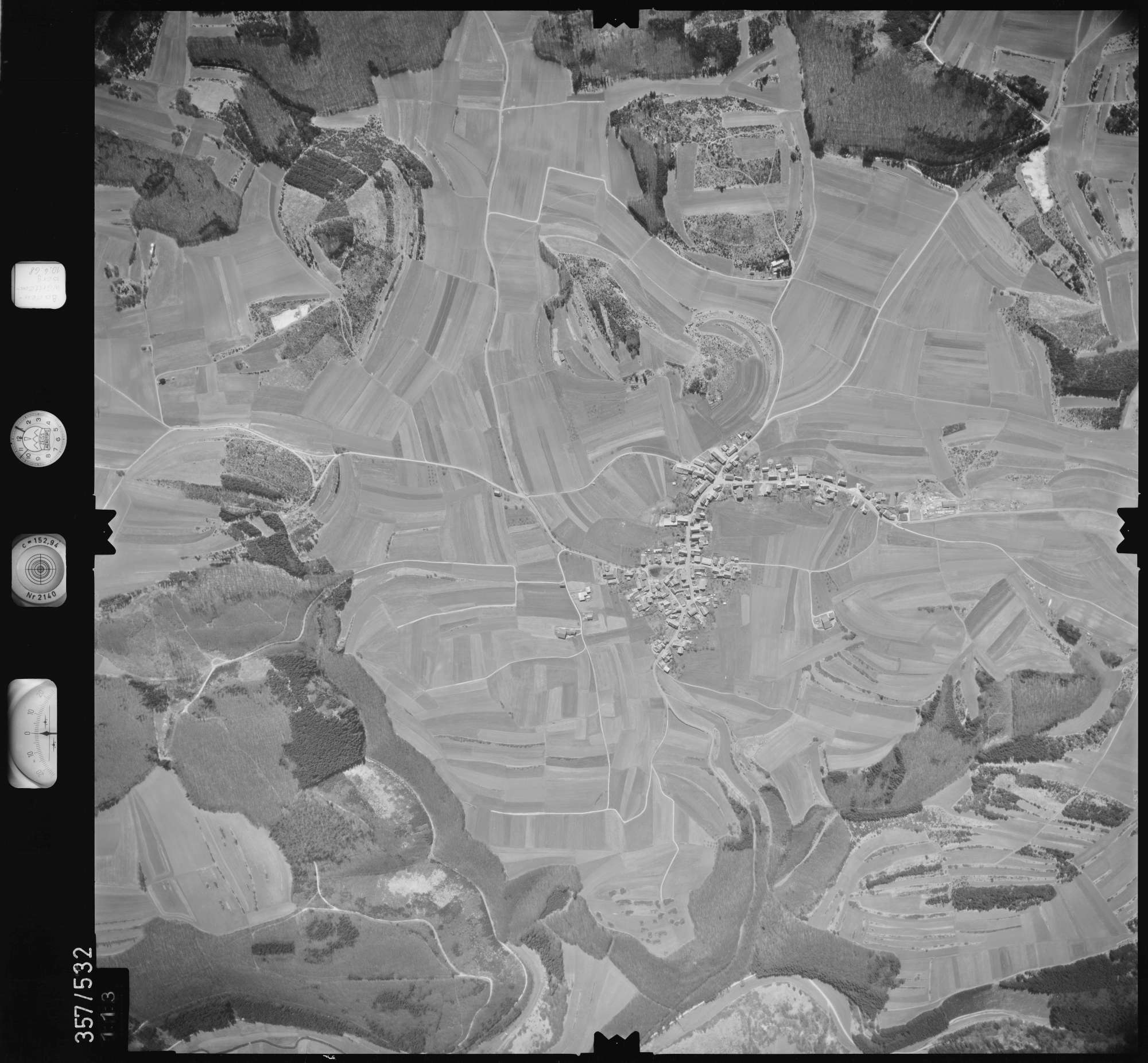Luftbild: Film 38 Bildnr. 113, Bild 1