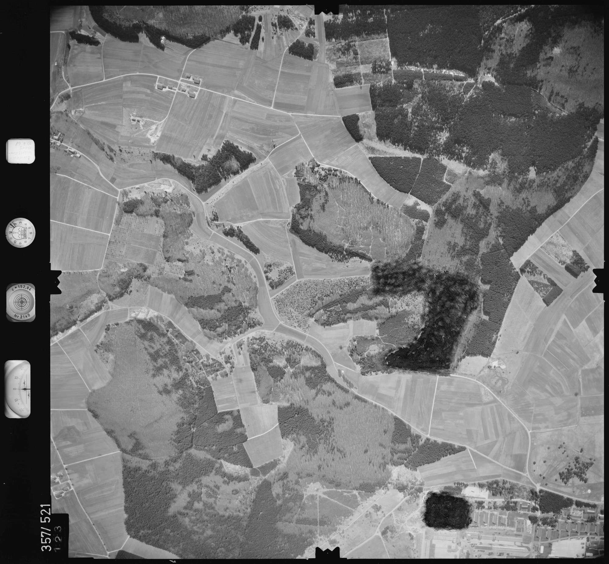 Luftbild: Film 38 Bildnr. 123, Bild 1