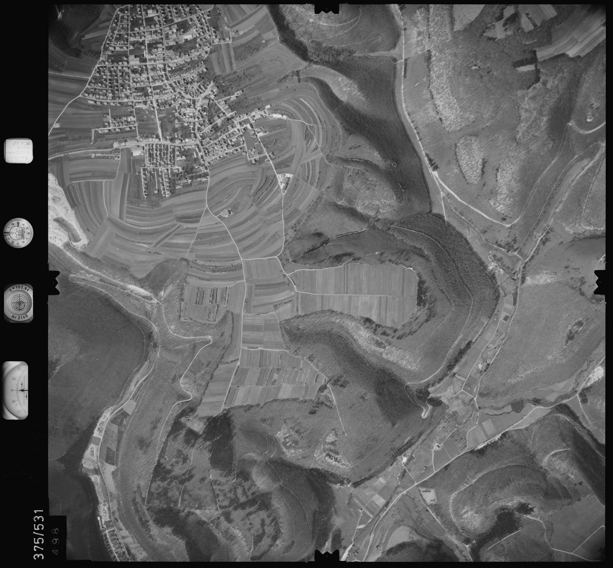 Luftbild: Film 34 Bildnr. 498, Bild 1