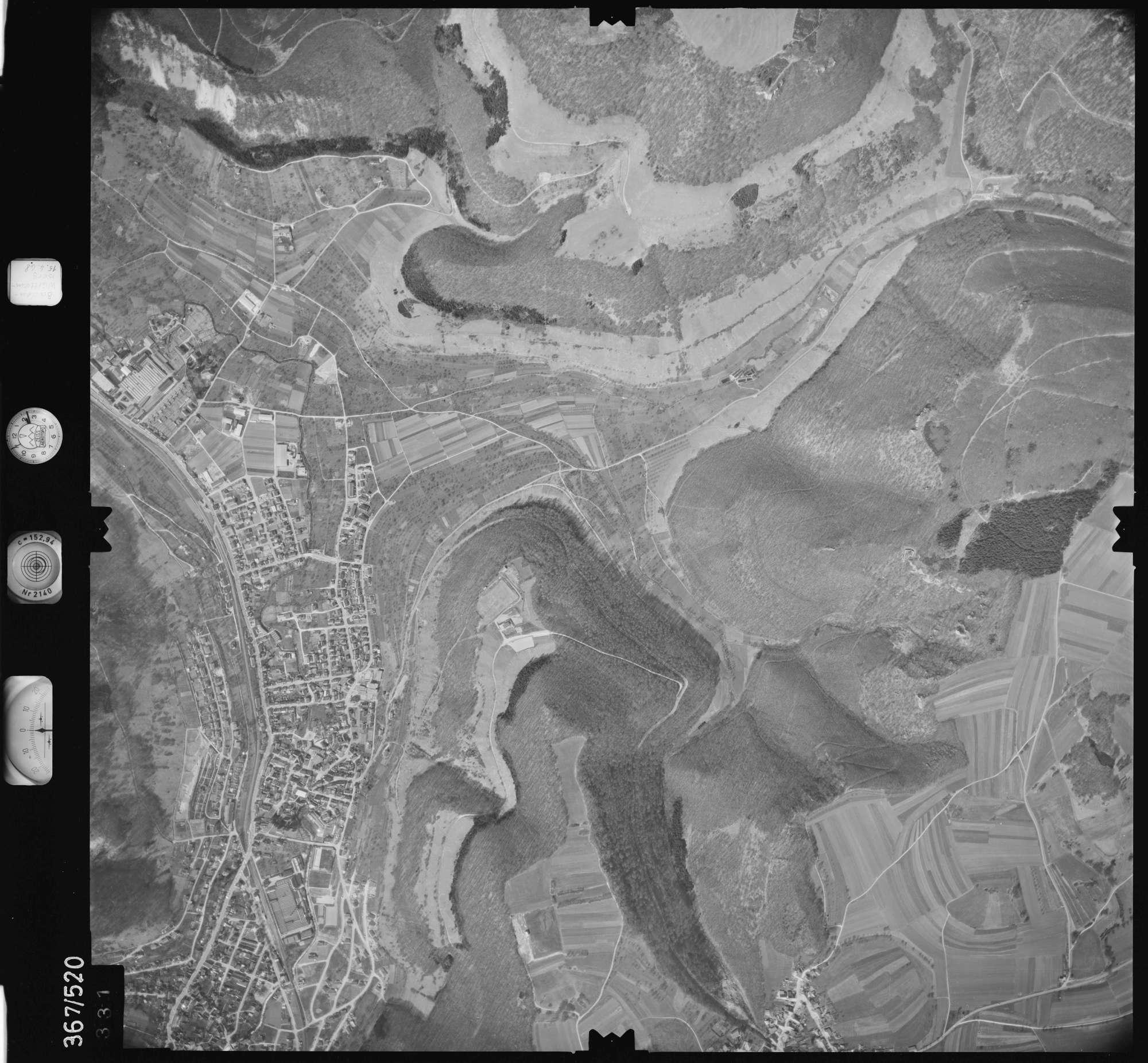 Luftbild: Film 34 Bildnr. 331, Bild 1