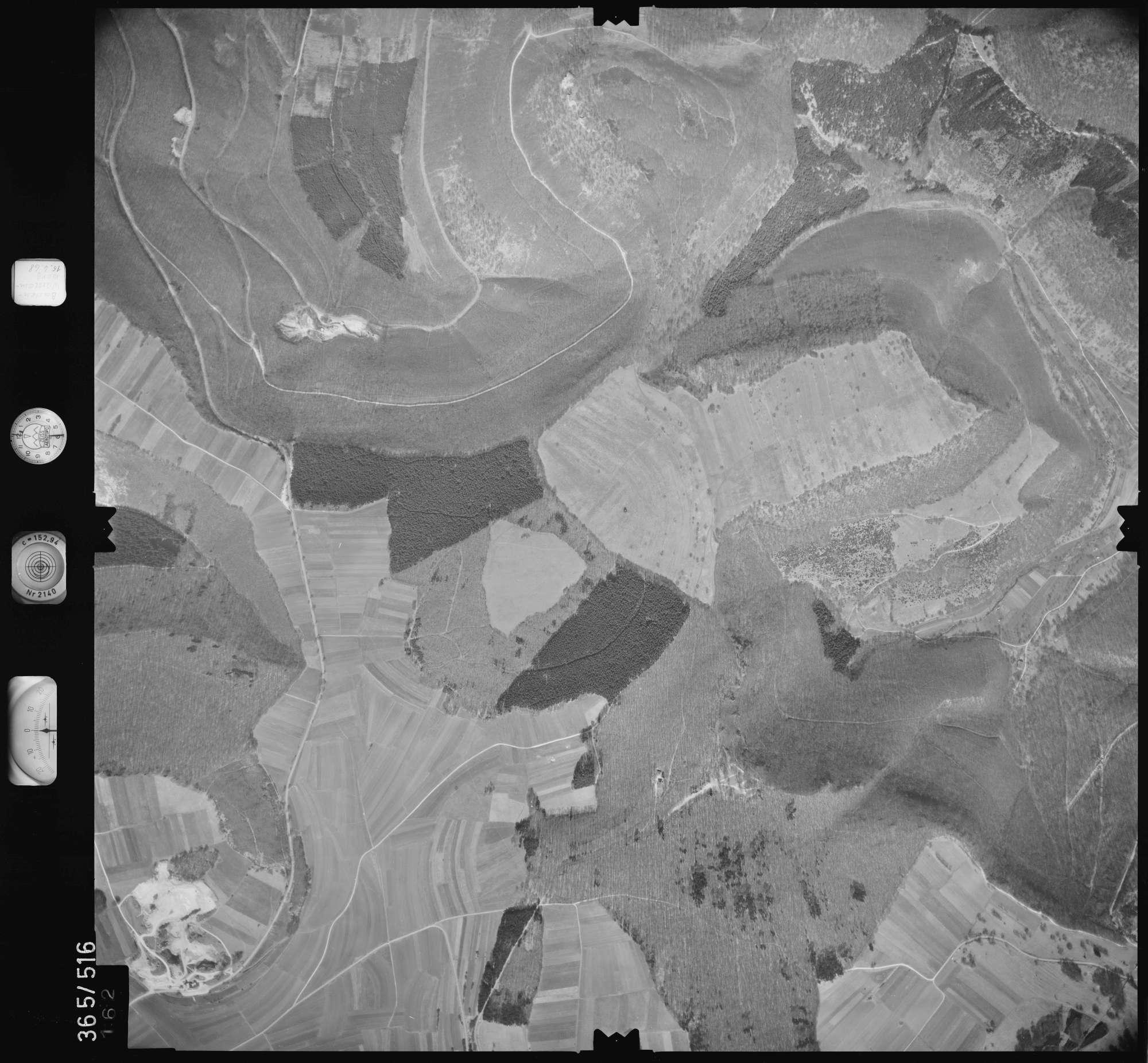 Luftbild: Film 45 Bildnr. 162, Bild 1