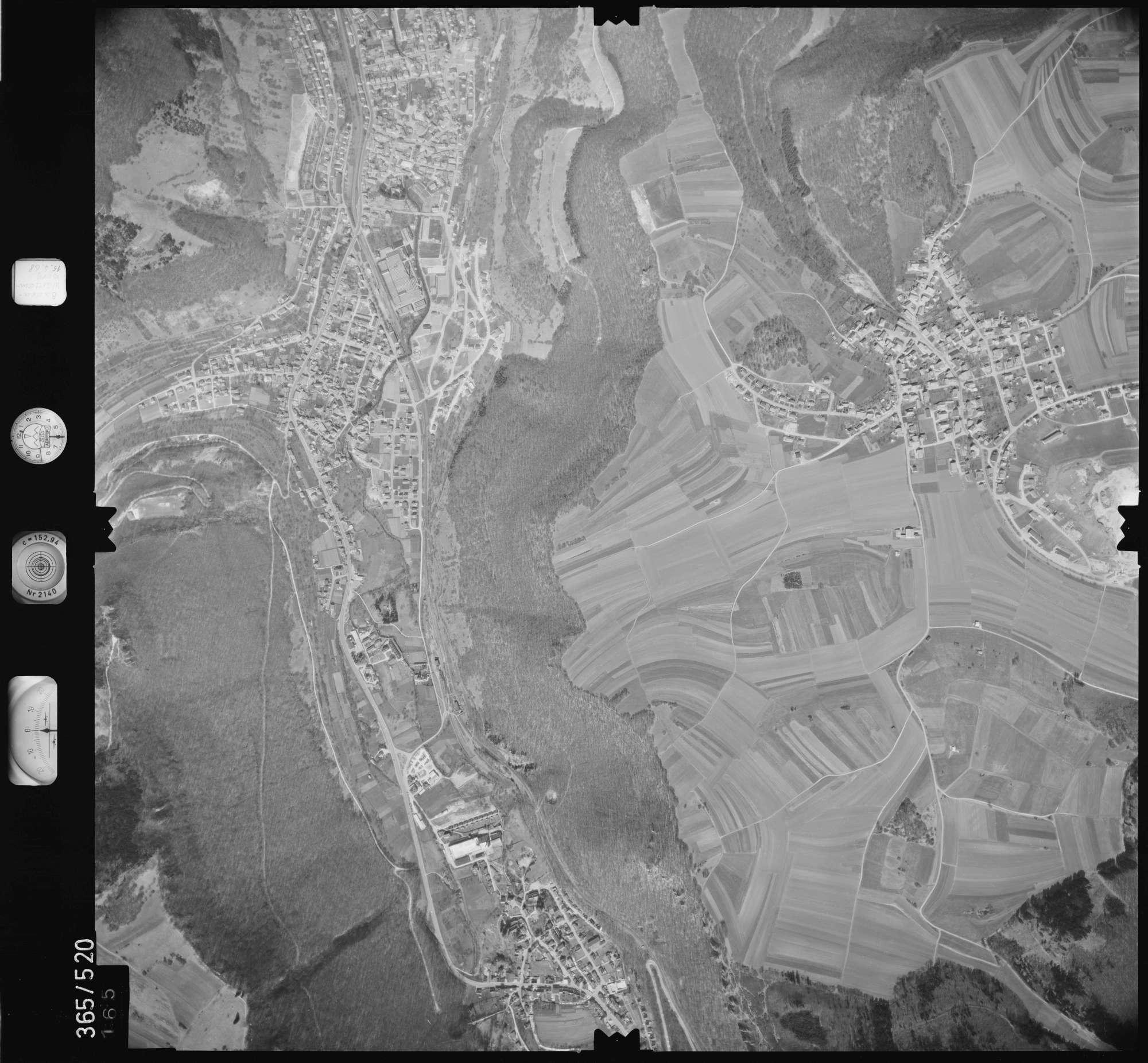 Luftbild: Film 45 Bildnr. 165, Bild 1