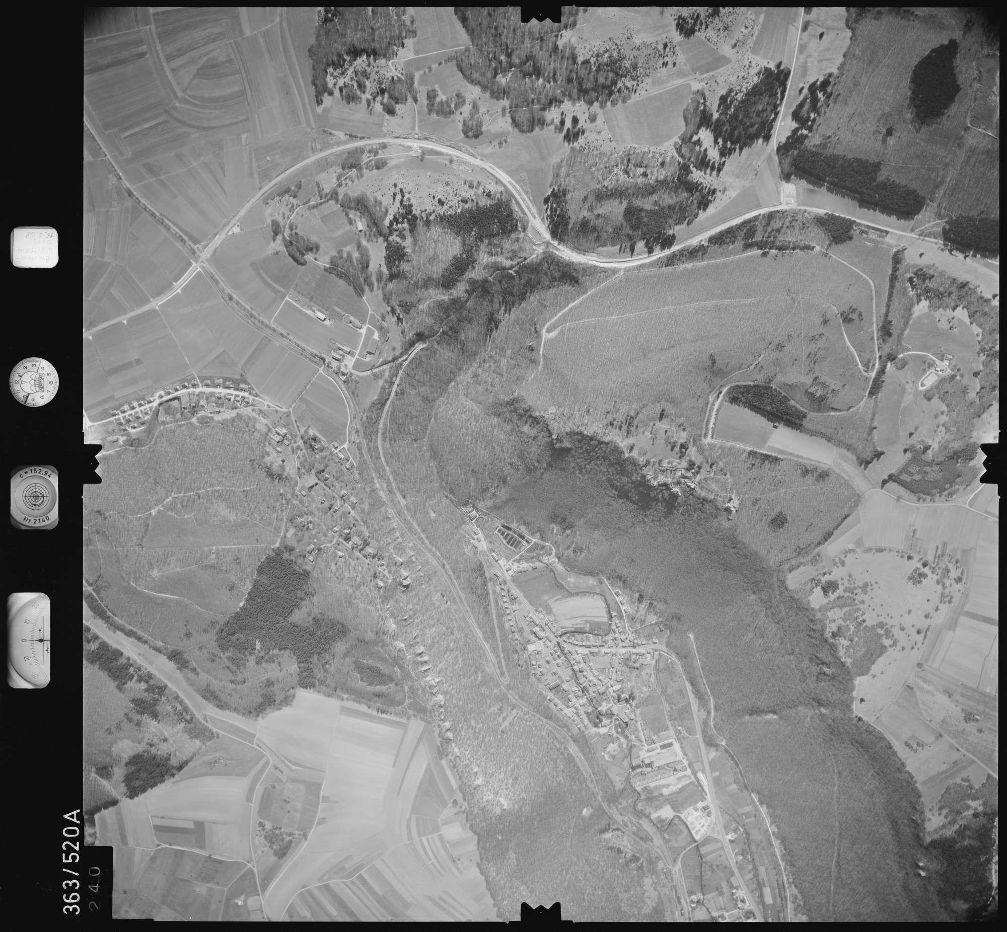 Luftbild: Film 45 Bildnr. 240, Bild 1