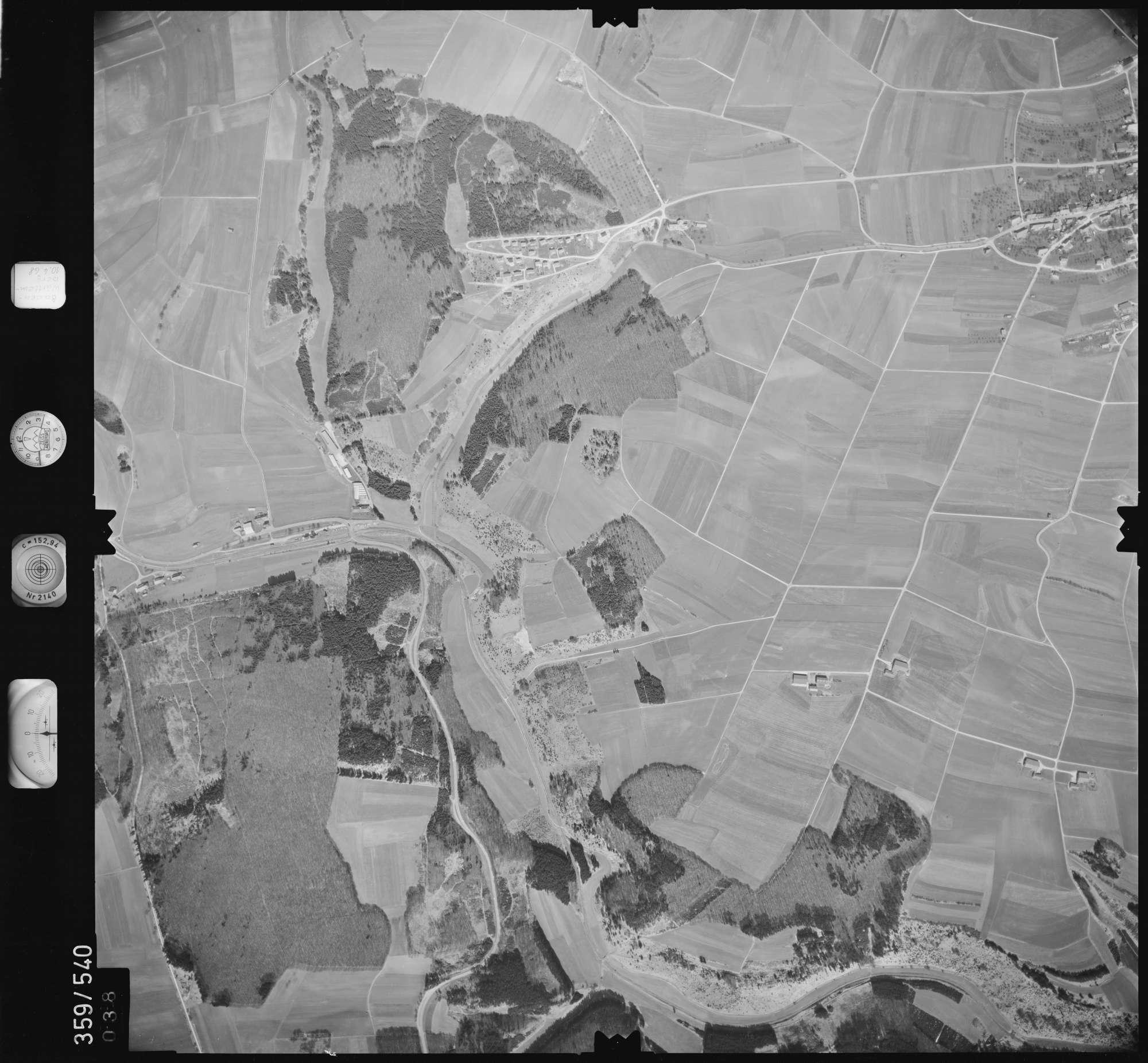 Luftbild: Film 38 Bildnr. 38, Bild 1