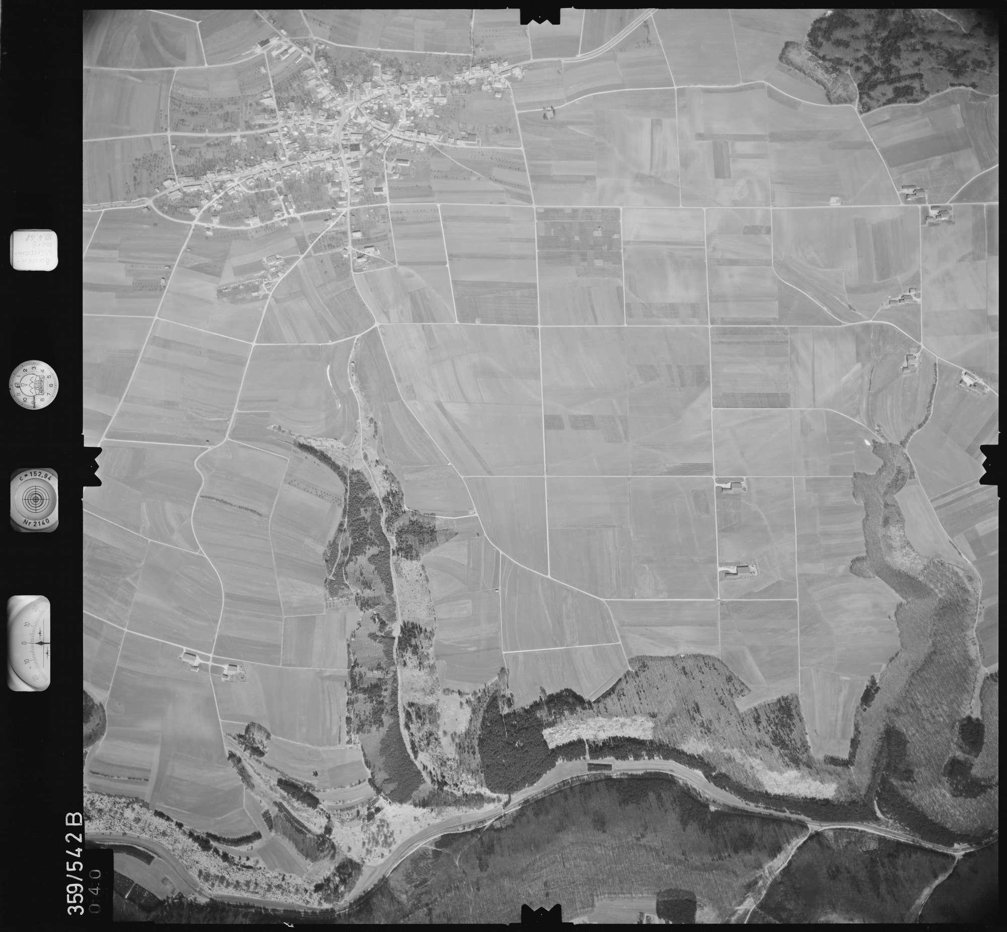 Luftbild: Film 38 Bildnr. 40, Bild 1