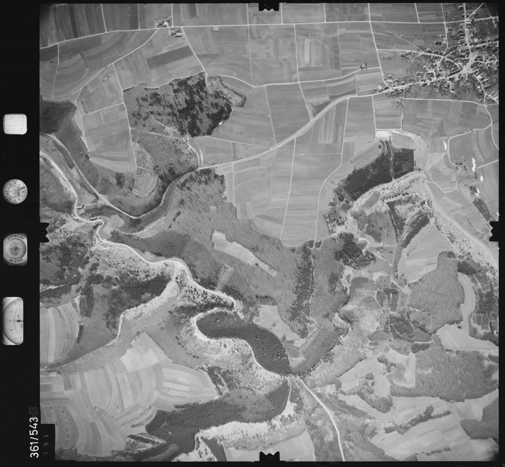 Luftbild: Film 40 Bildnr. 131, Bild 1