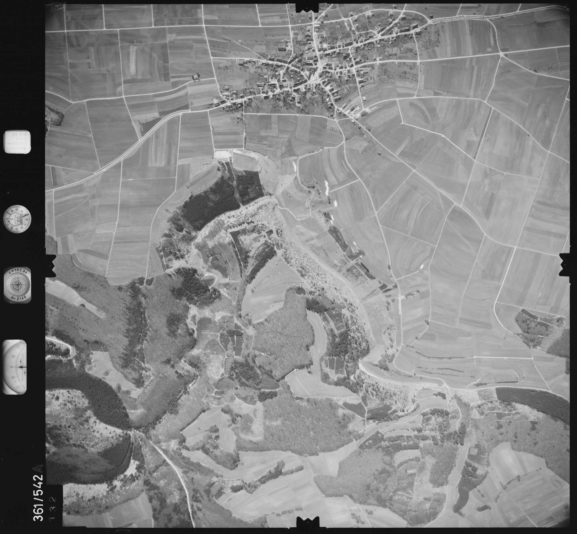 Luftbild: Film 40 Bildnr. 132, Bild 1
