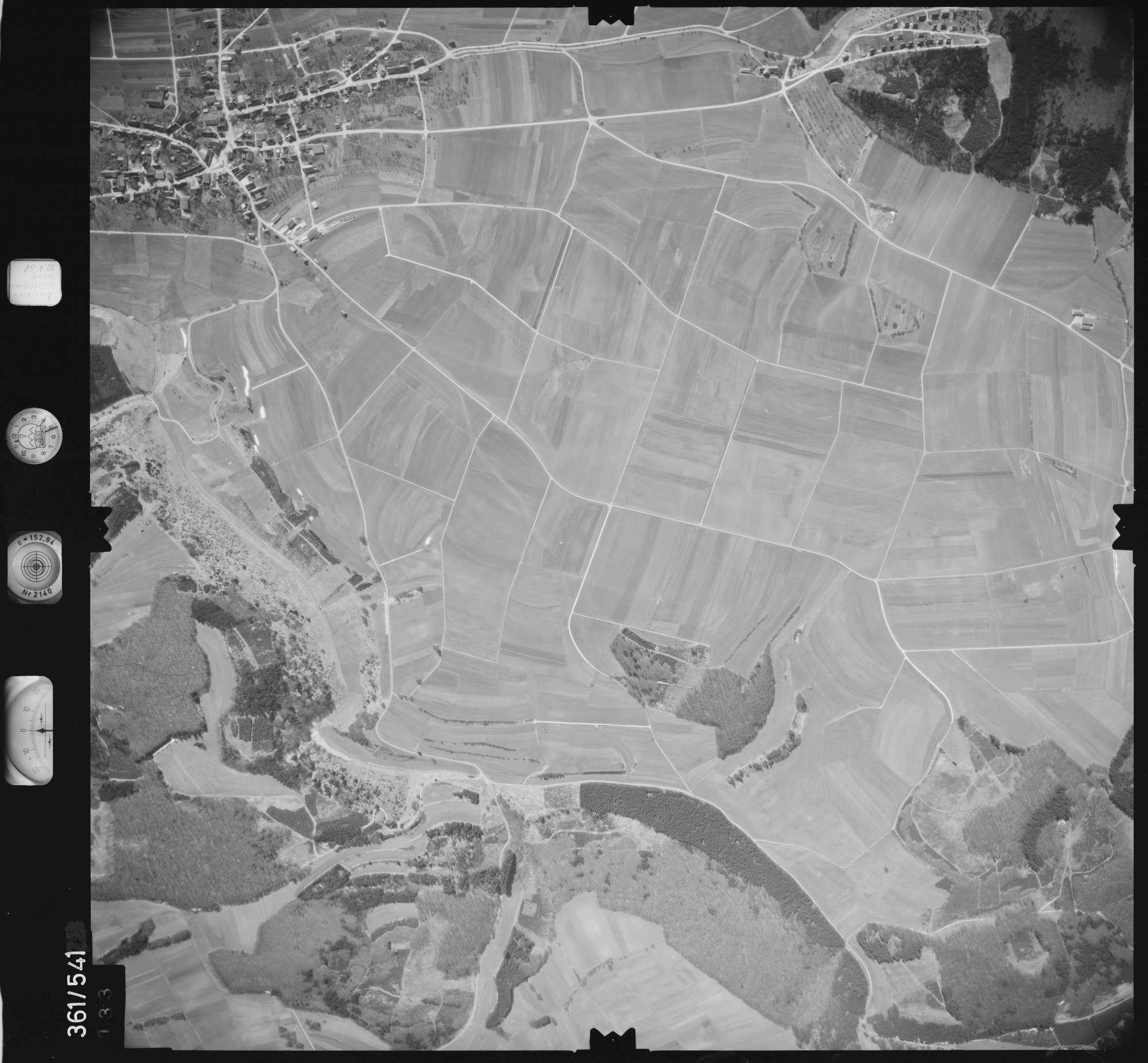 Luftbild: Film 40 Bildnr. 133, Bild 1