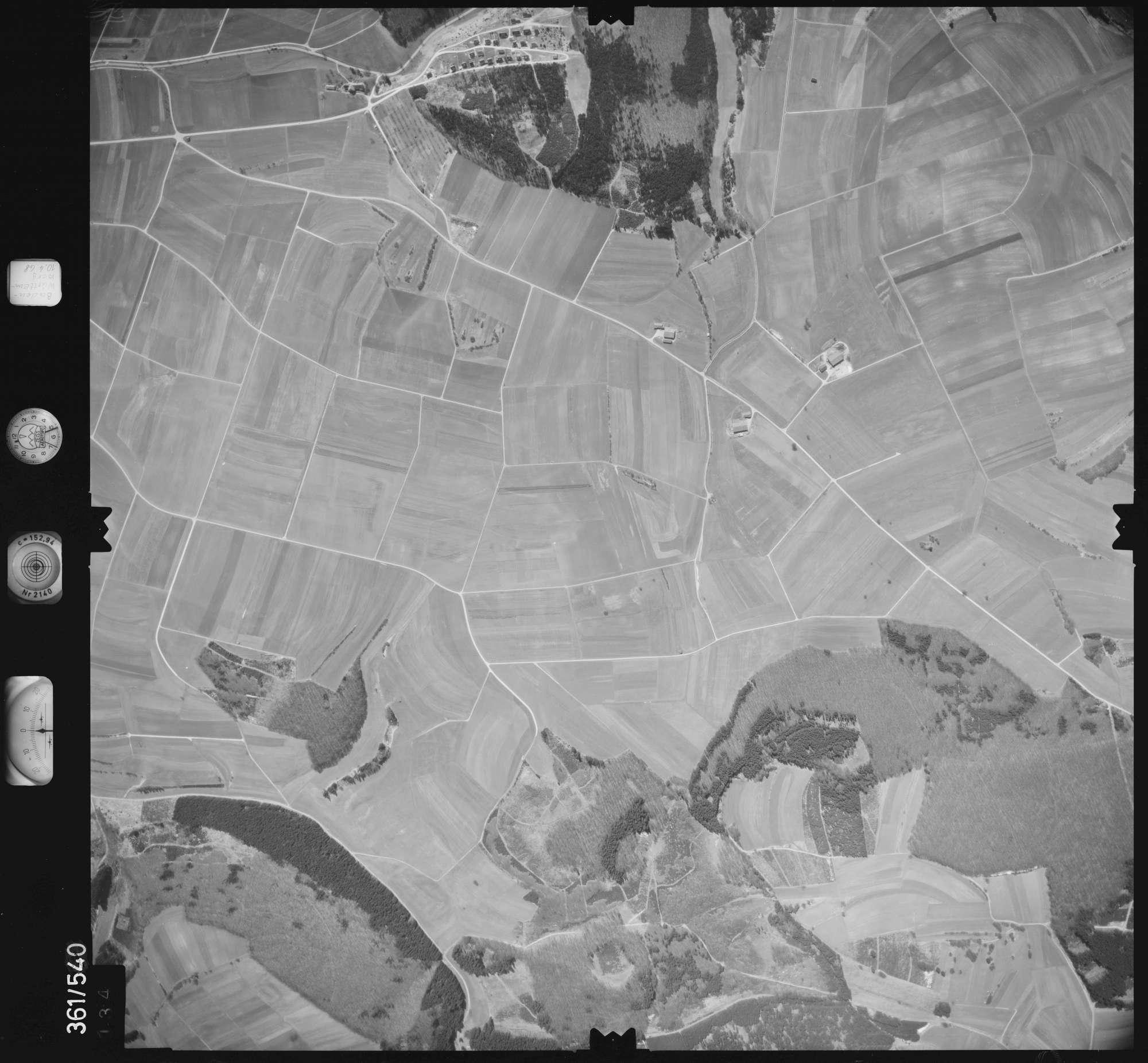 Luftbild: Film 40 Bildnr. 134, Bild 1