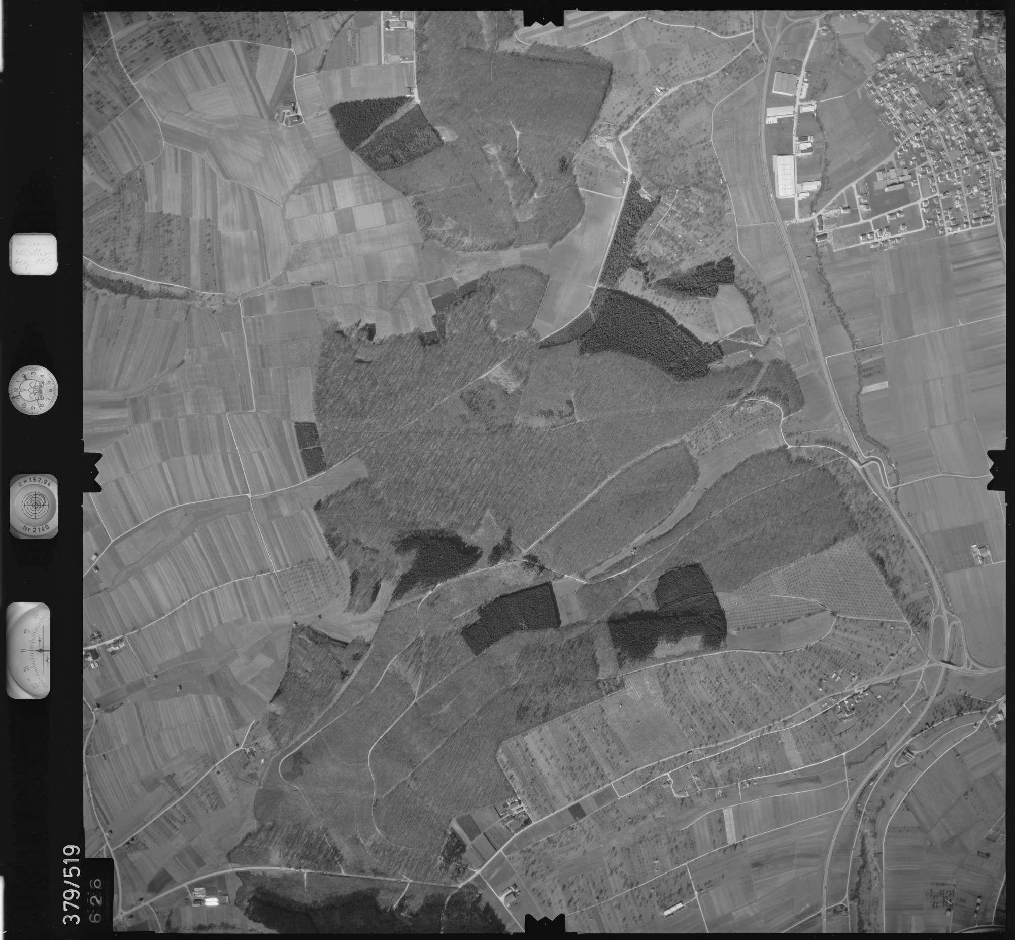 Luftbild: Film 31 Bildnr. 626, Bild 1