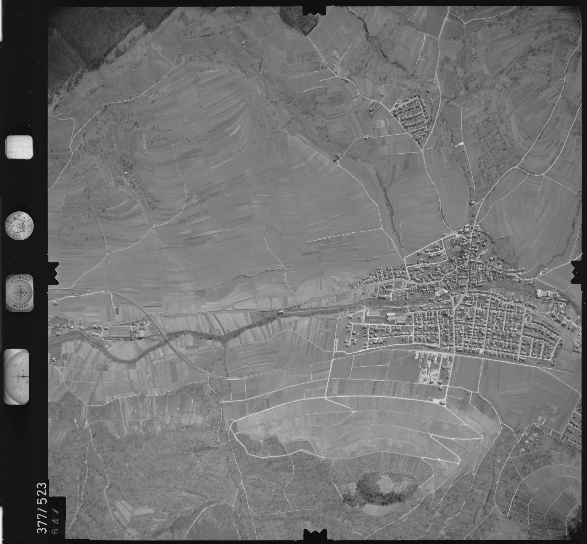 Luftbild: Film 31 Bildnr. 647, Bild 1