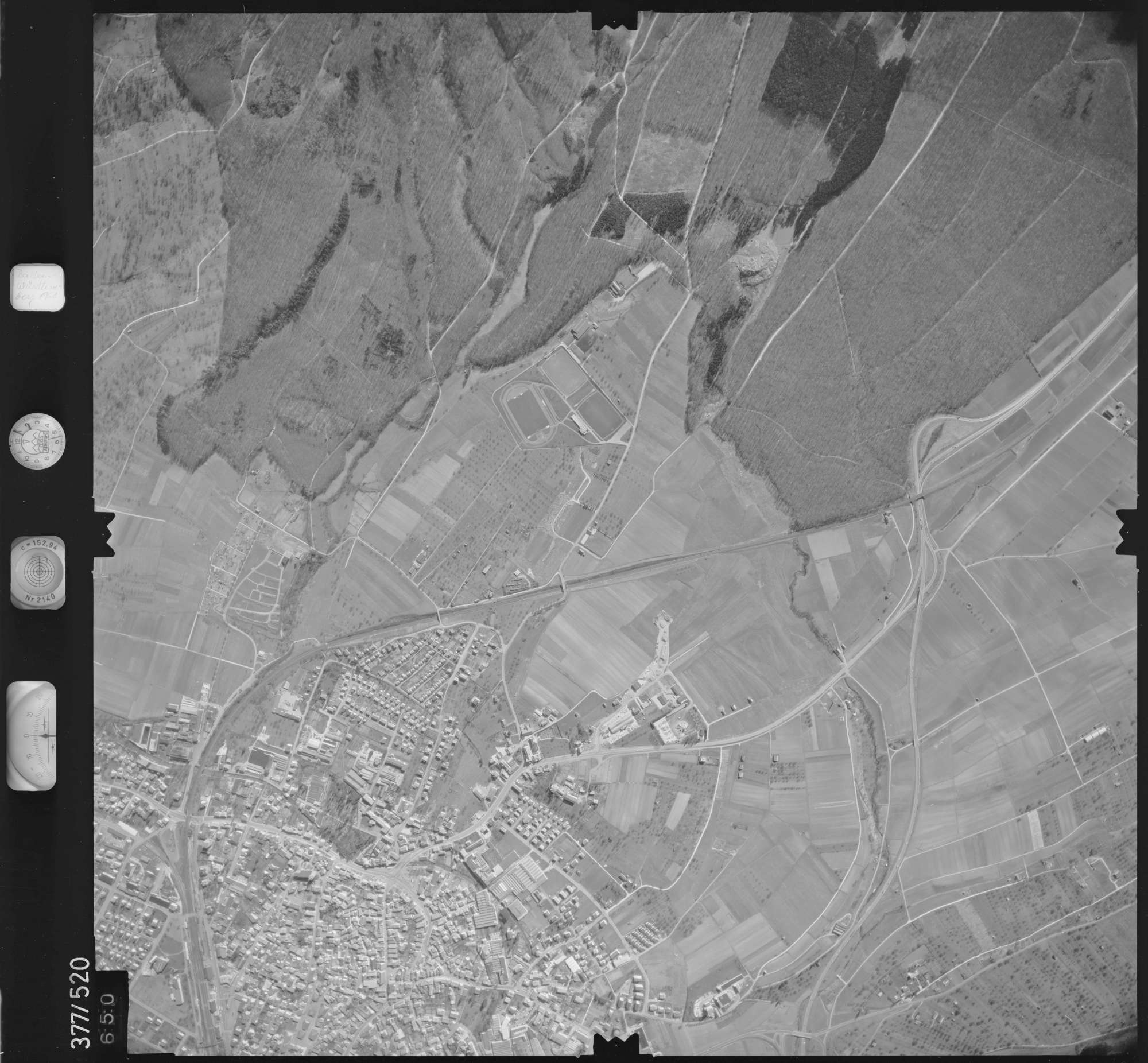 Luftbild: Film 31 Bildnr. 650, Bild 1