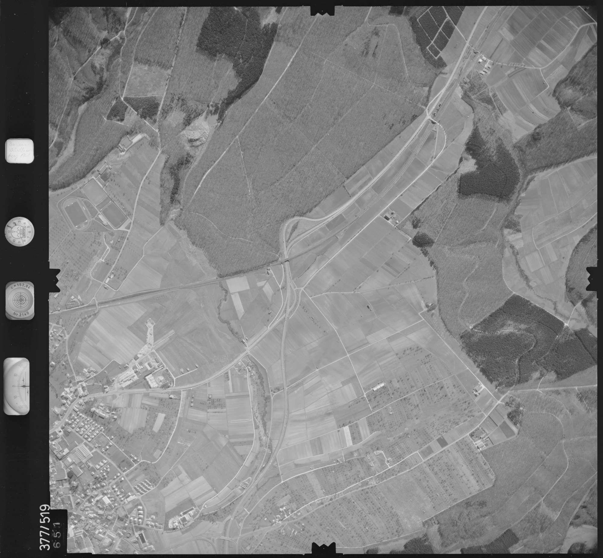 Luftbild: Film 31 Bildnr. 651, Bild 1