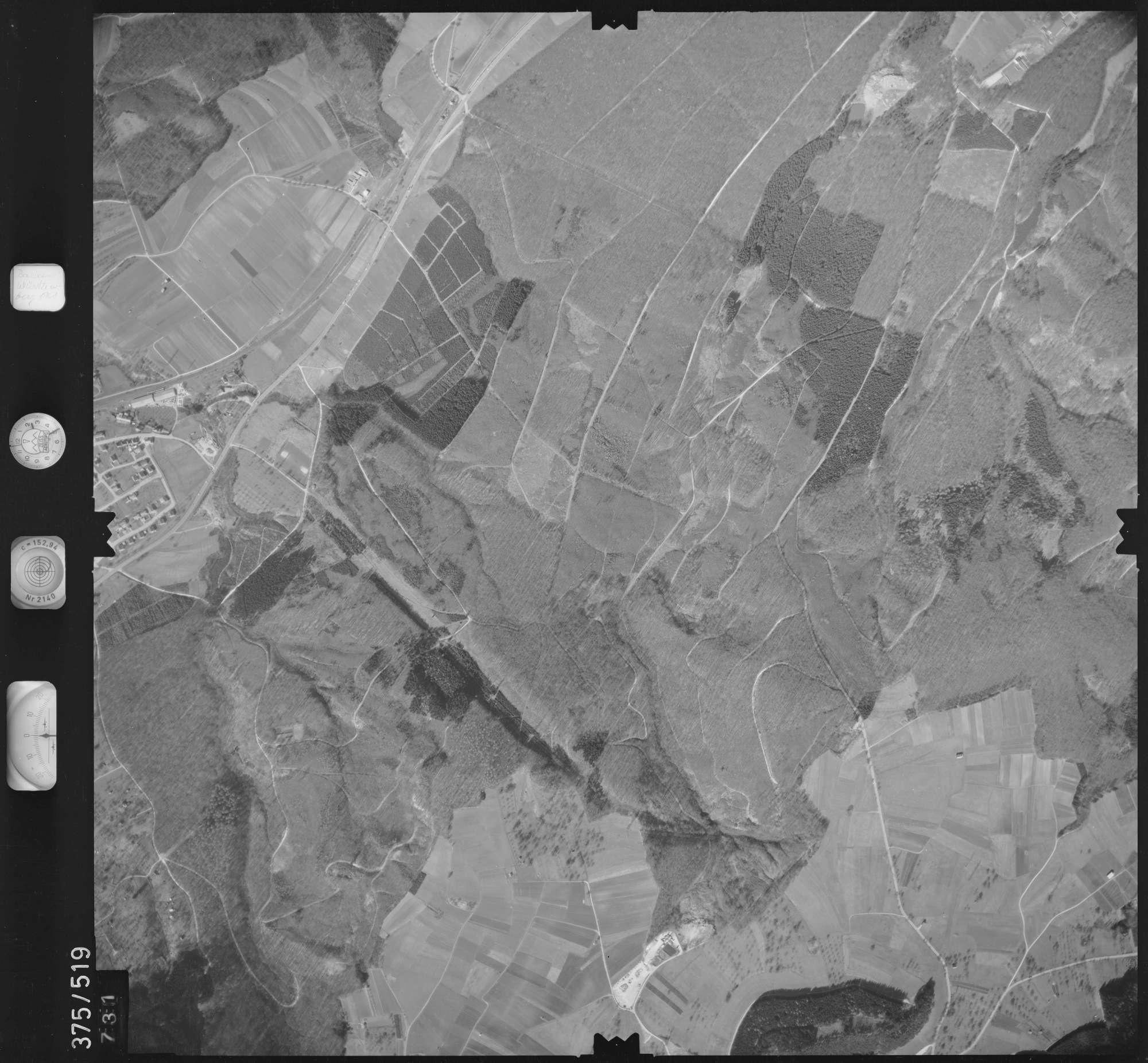Luftbild: Film 31 Bildnr. 731, Bild 1