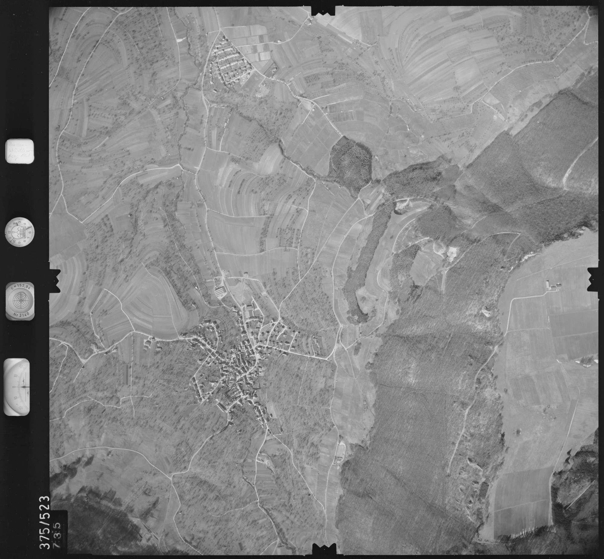 Luftbild: Film 31 Bildnr. 735, Bild 1