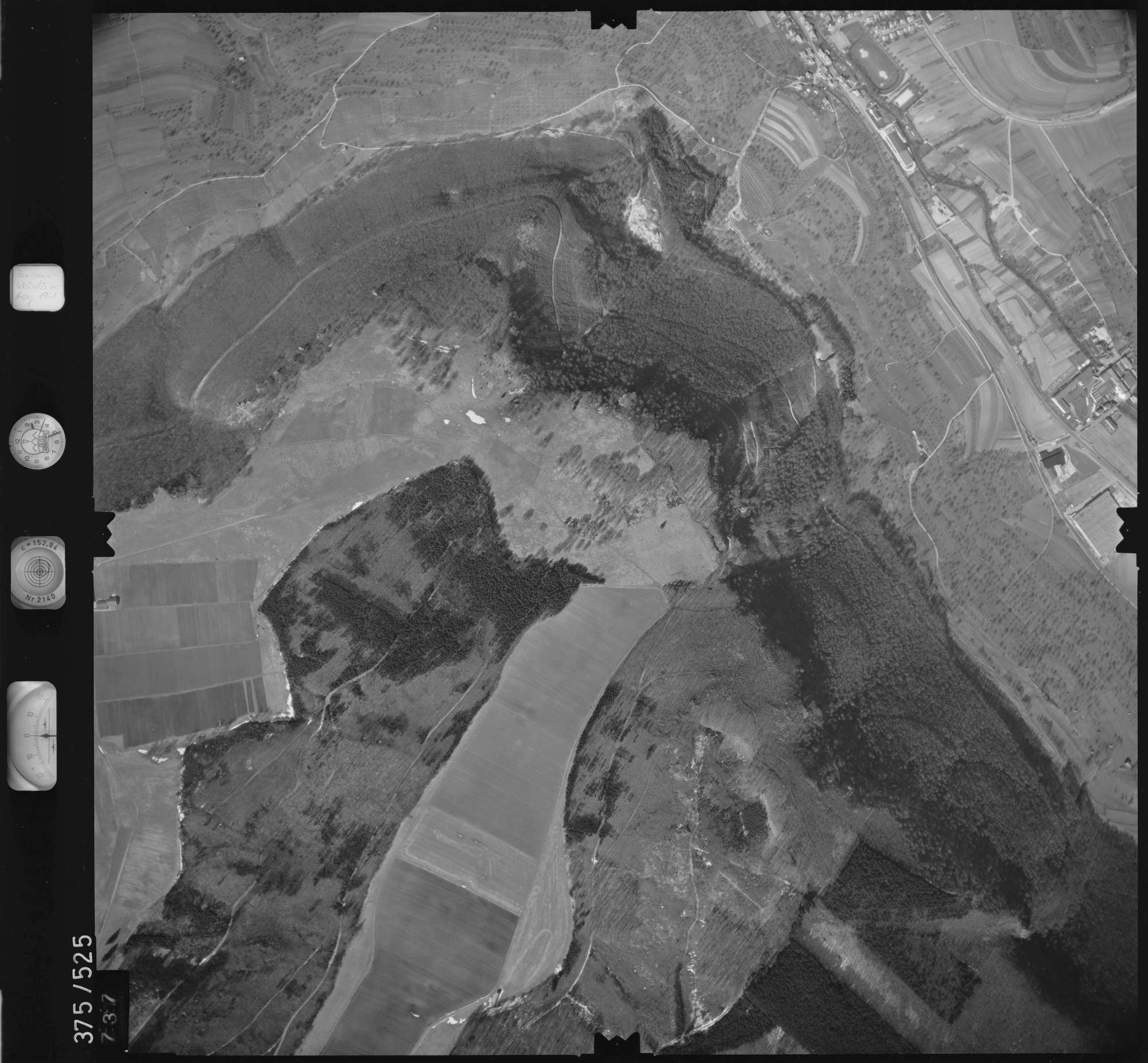 Luftbild: Film 31 Bildnr. 737, Bild 1