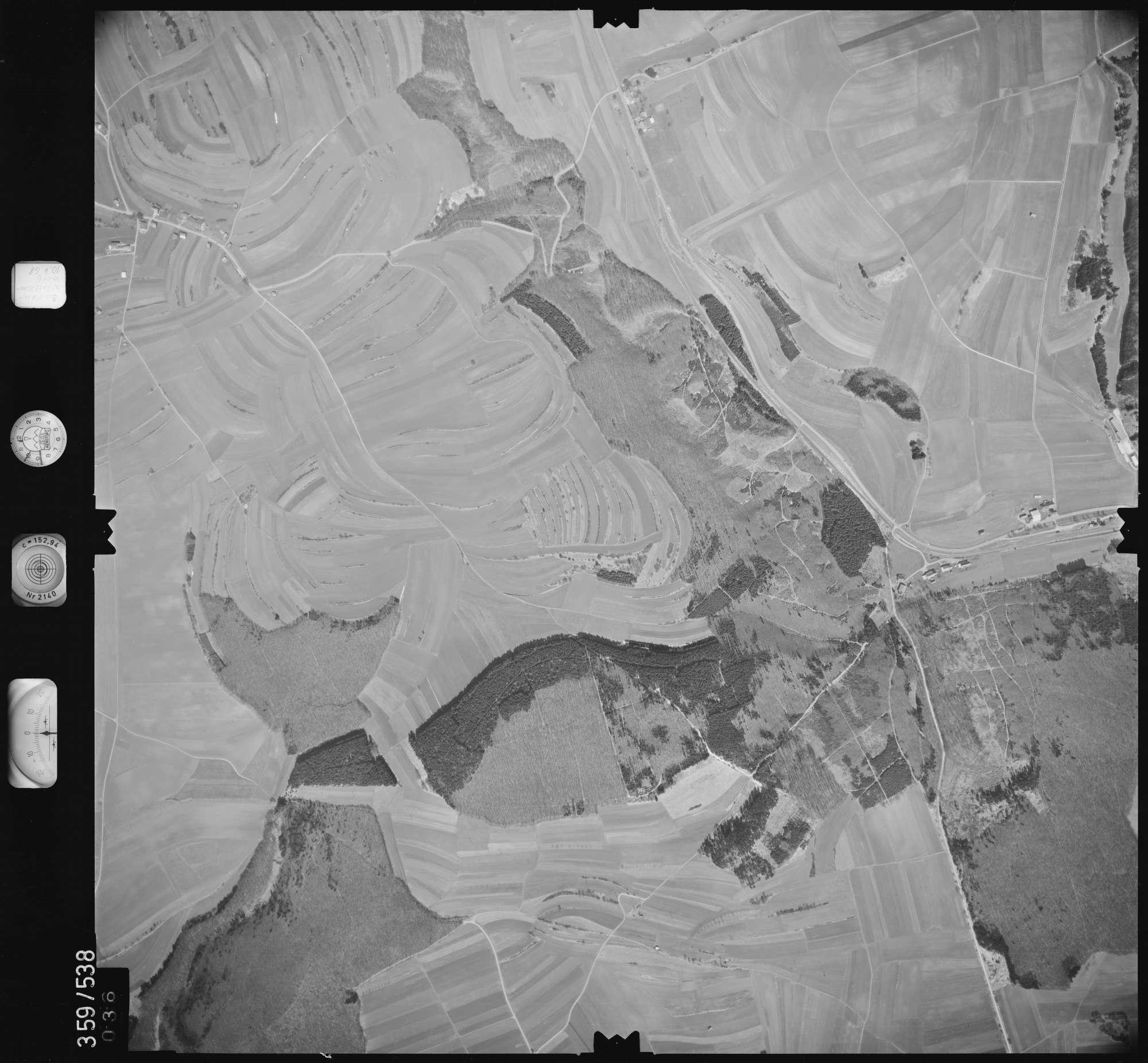 Luftbild: Film 38 Bildnr. 36, Bild 1