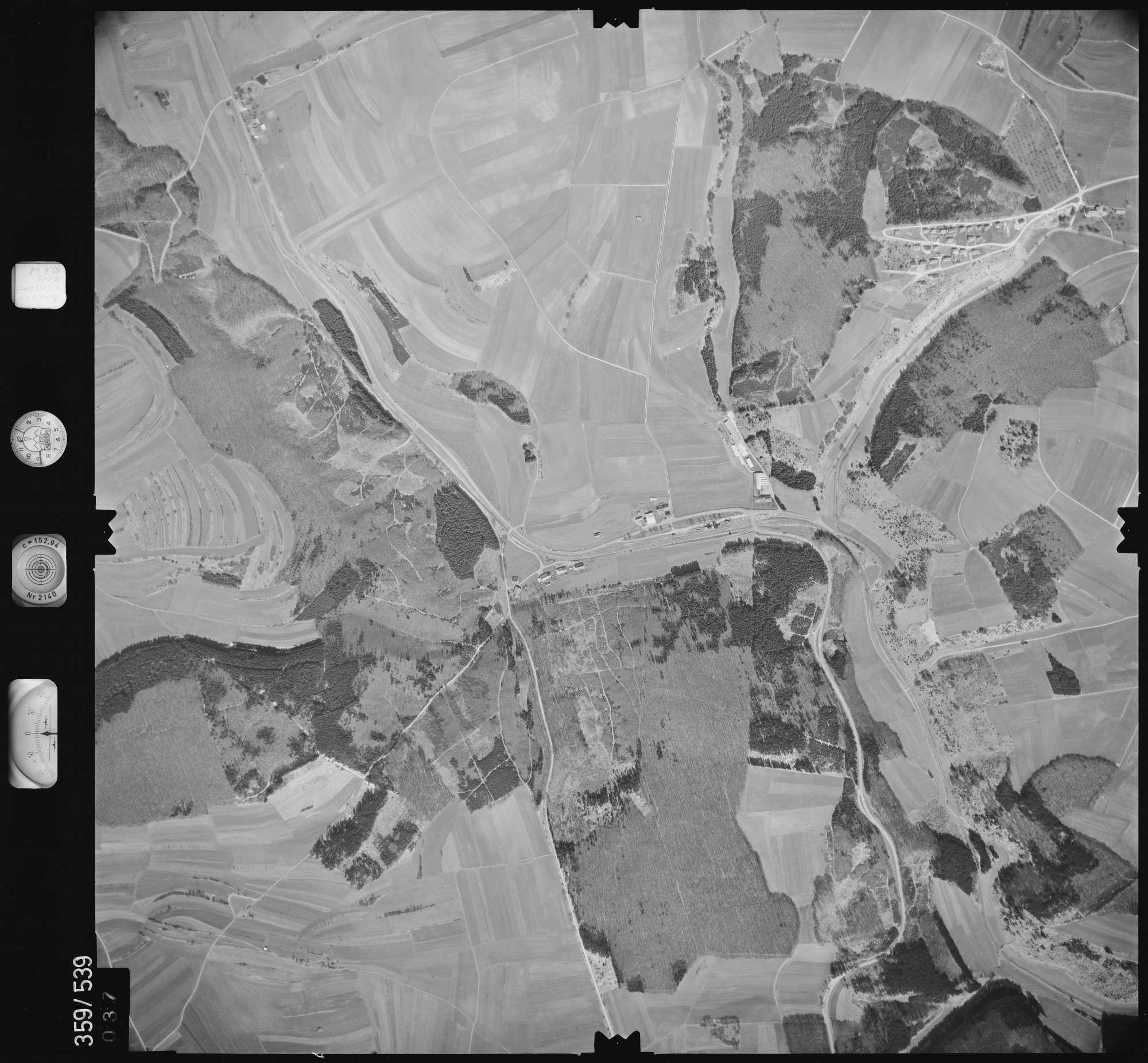 Luftbild: Film 38 Bildnr. 37, Bild 1