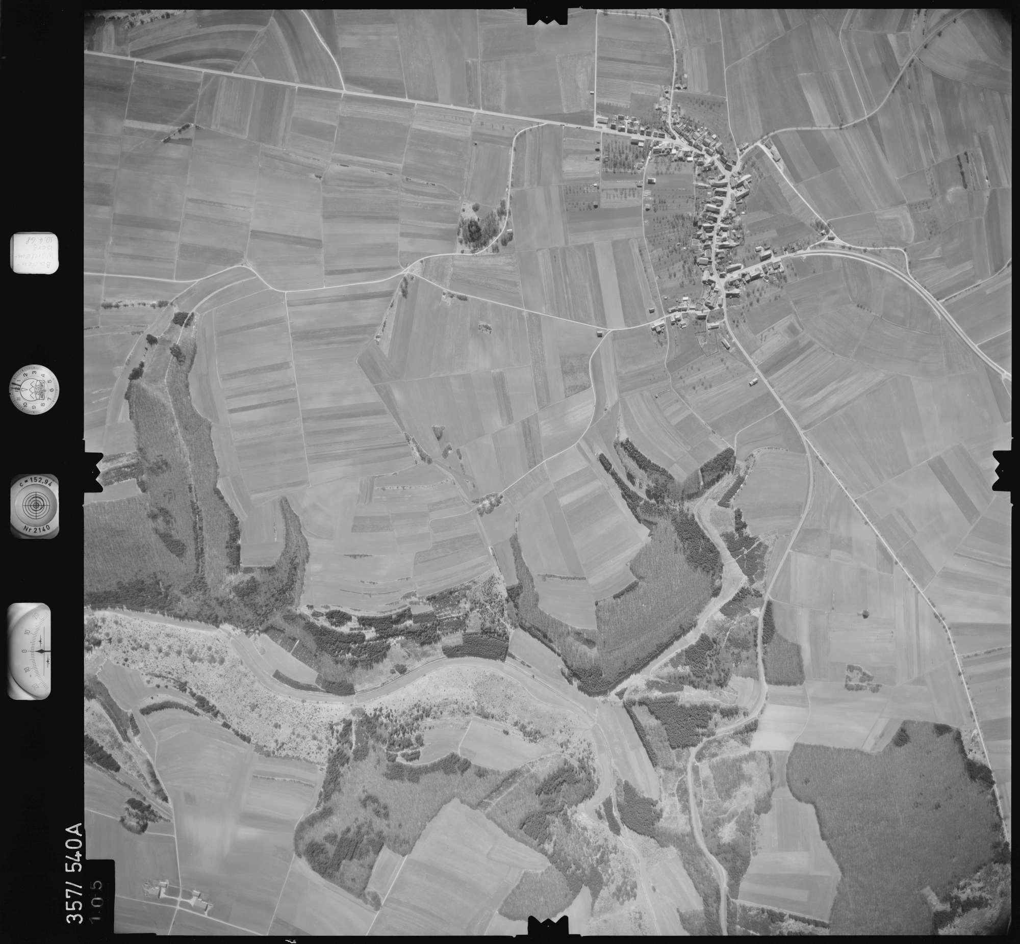 Luftbild: Film 38 Bildnr. 105, Bild 1