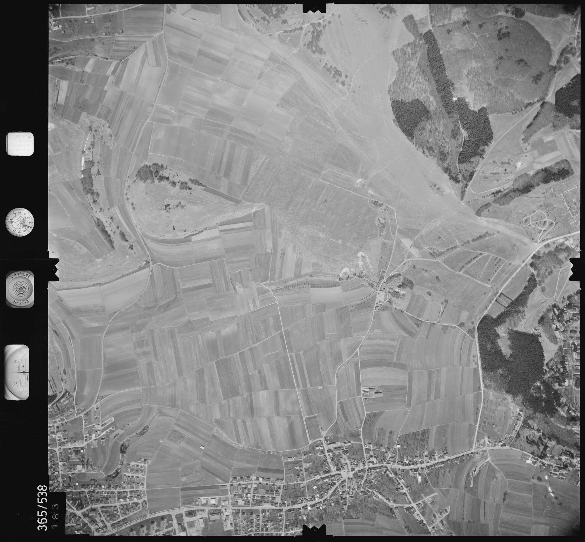 Luftbild: Film 45 Bildnr. 183, Bild 1