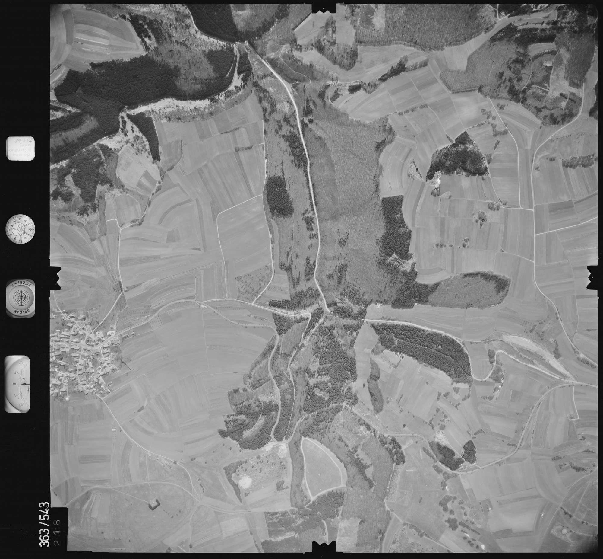 Luftbild: Film 45 Bildnr. 218, Bild 1