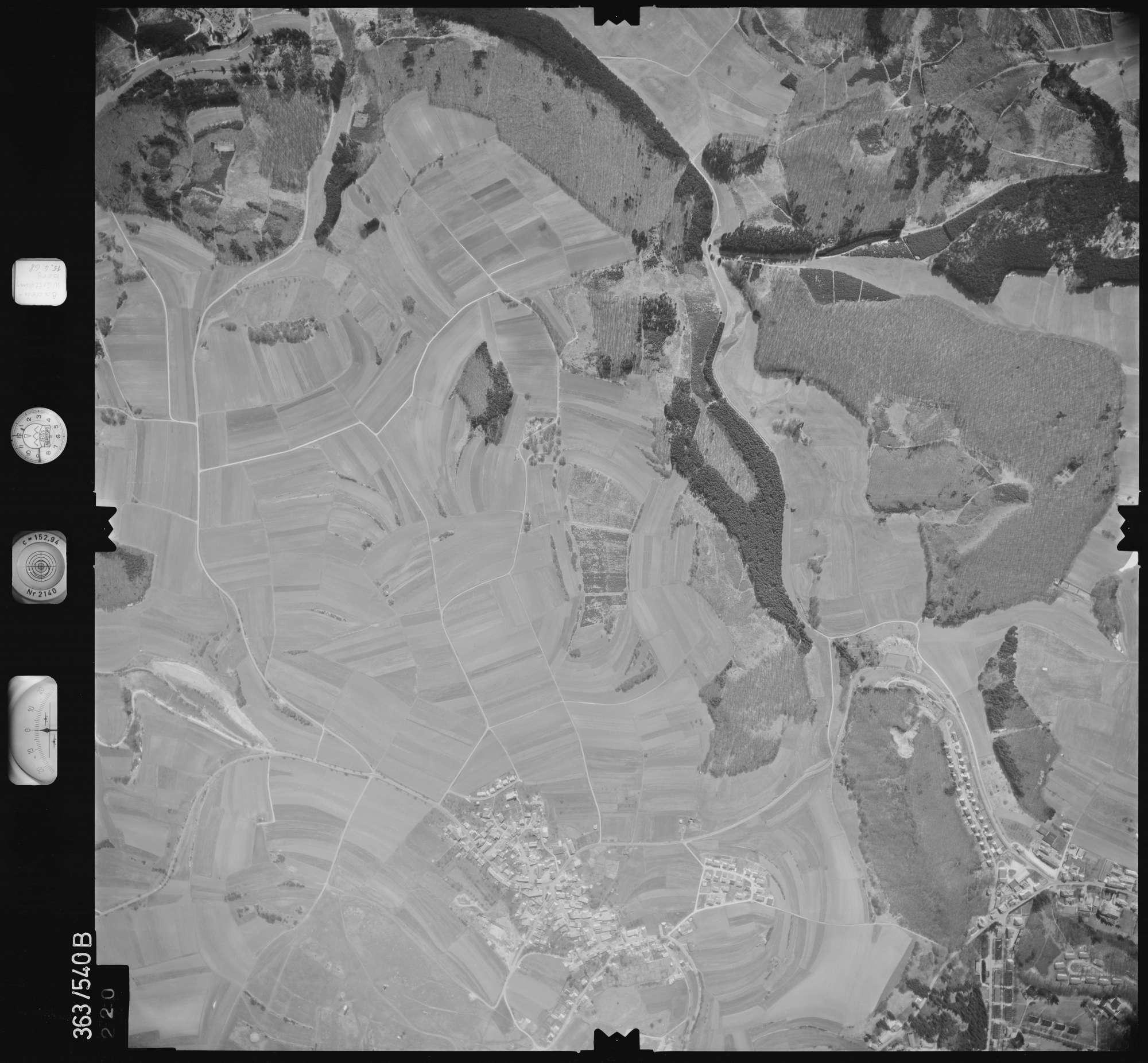 Luftbild: Film 45 Bildnr. 220, Bild 1