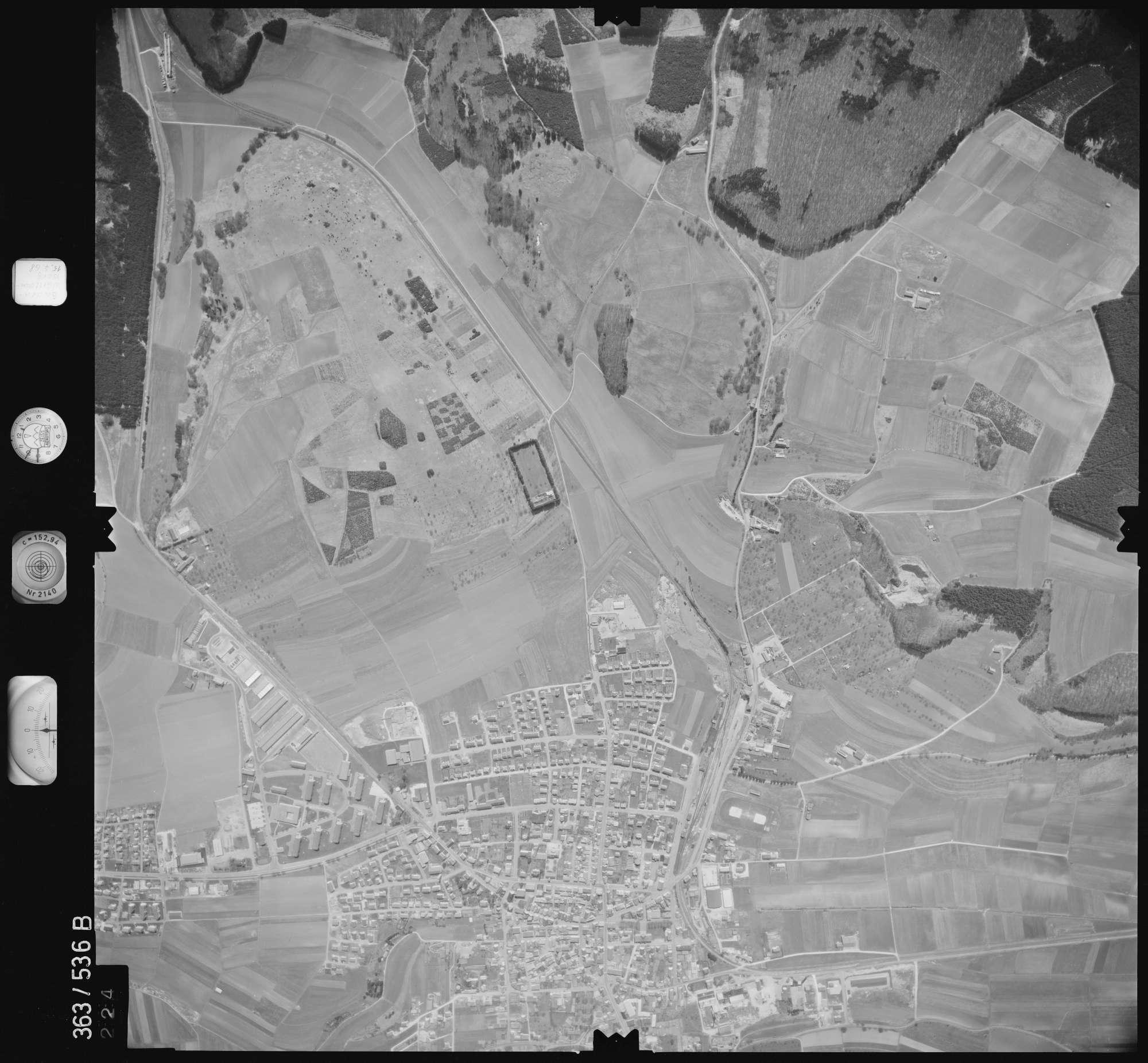 Luftbild: Film 45 Bildnr. 224, Bild 1