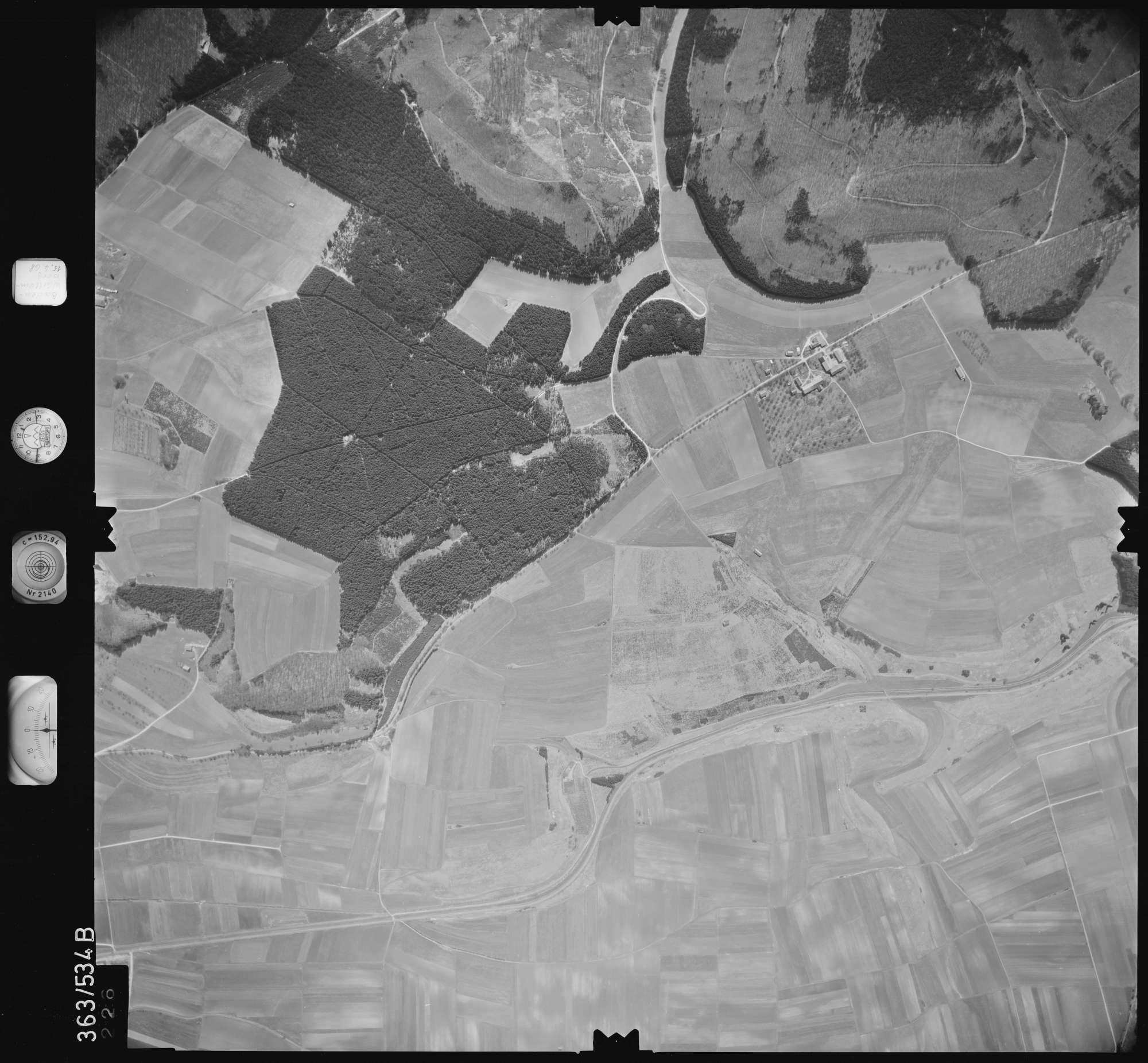 Luftbild: Film 45 Bildnr. 226, Bild 1