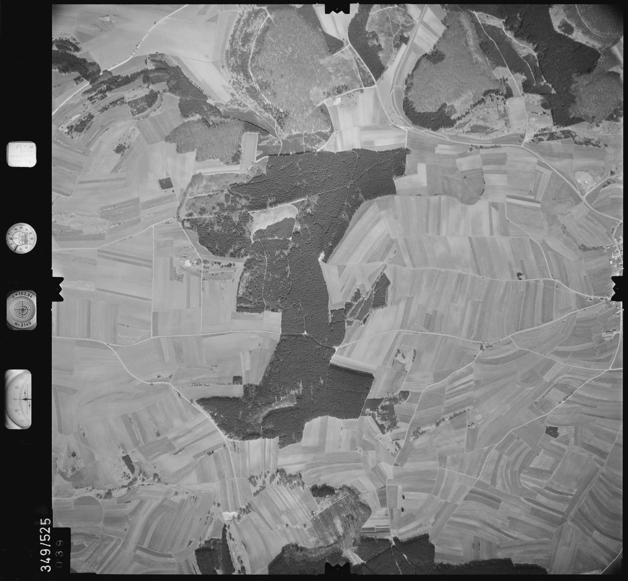 Luftbild: Film 45 Bildnr. 39, Bild 1