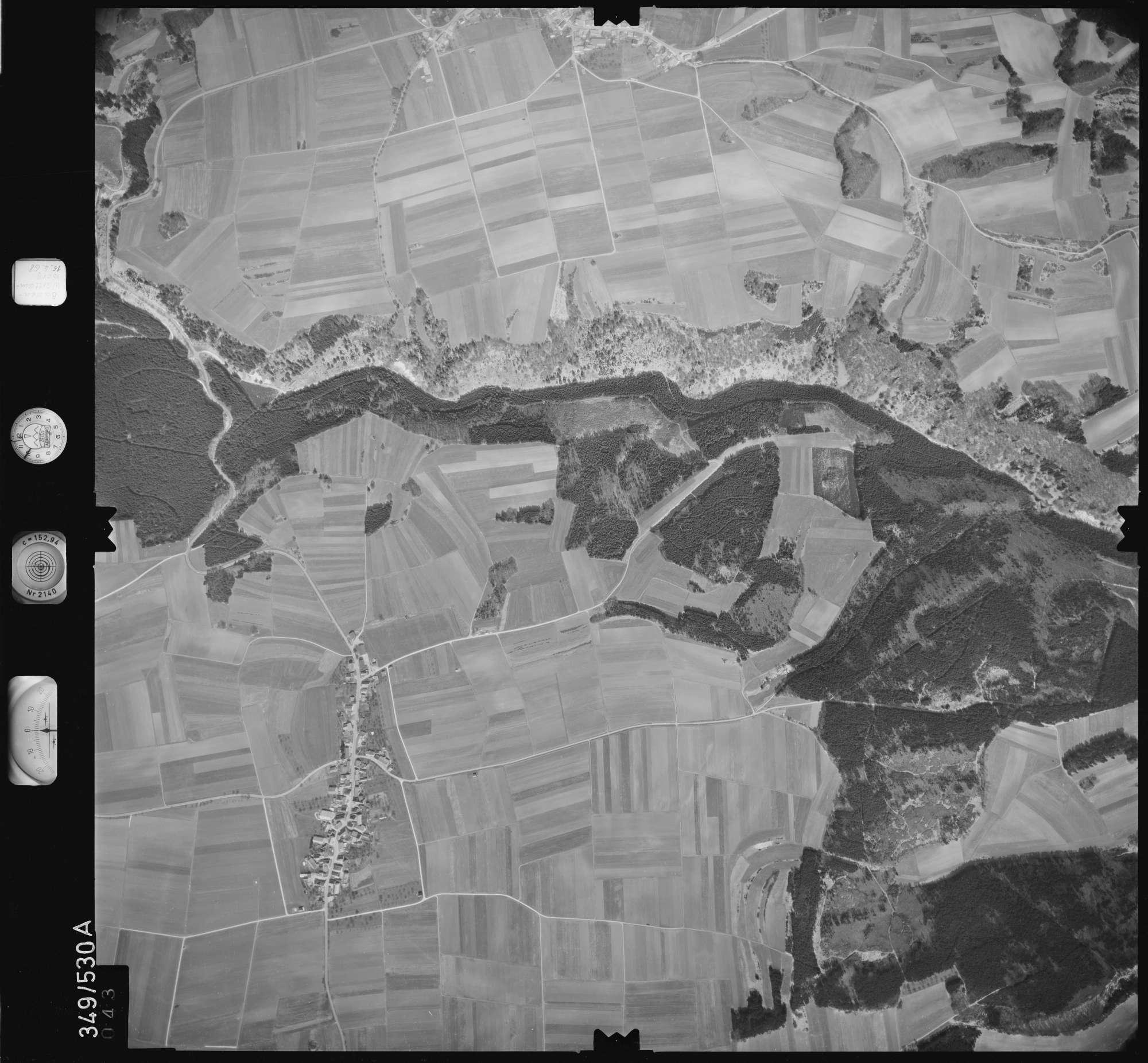 Luftbild: Film 45 Bildnr. 43, Bild 1