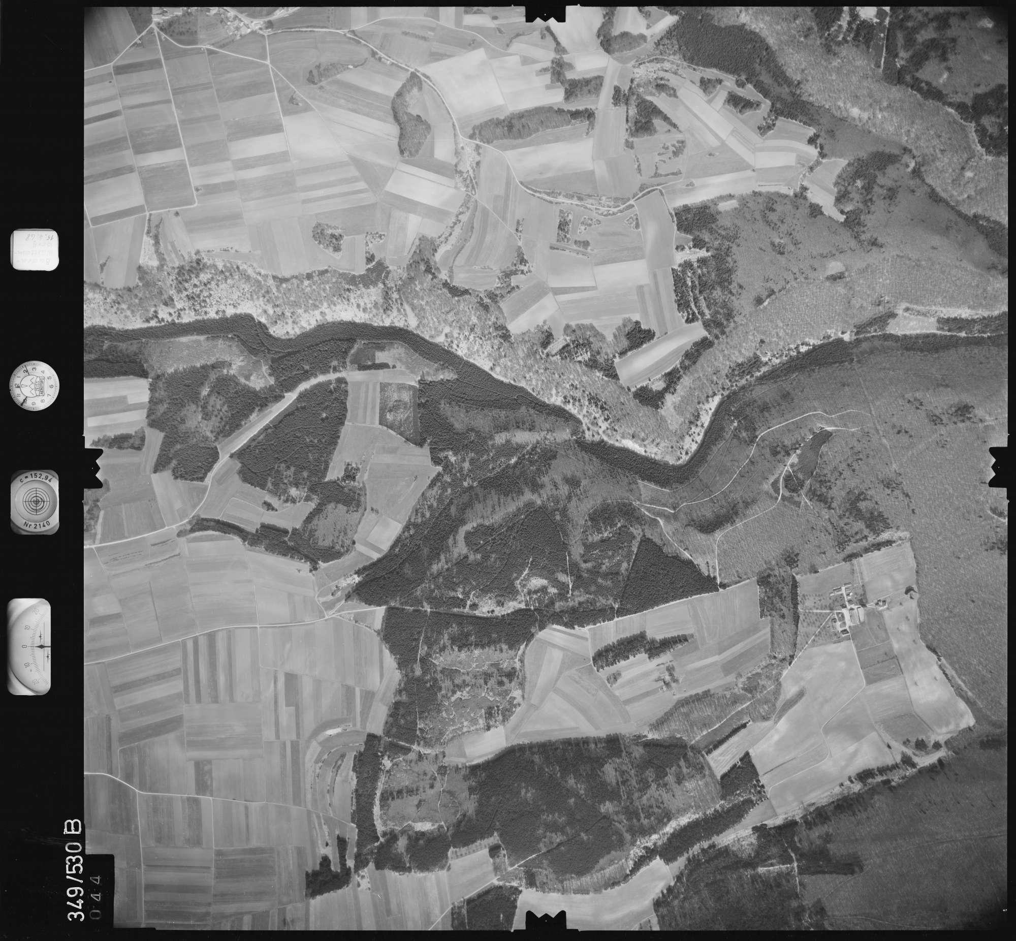 Luftbild: Film 45 Bildnr. 44, Bild 1
