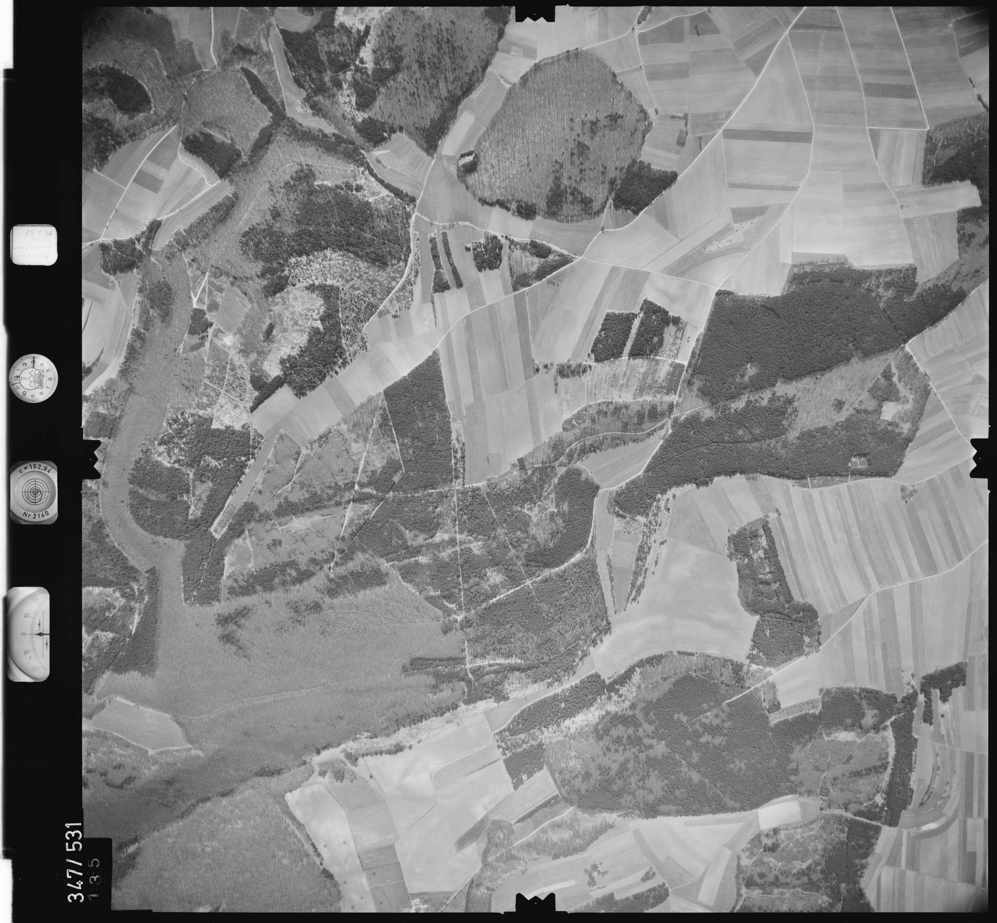 Luftbild: Film 45 Bildnr. 135, Bild 1