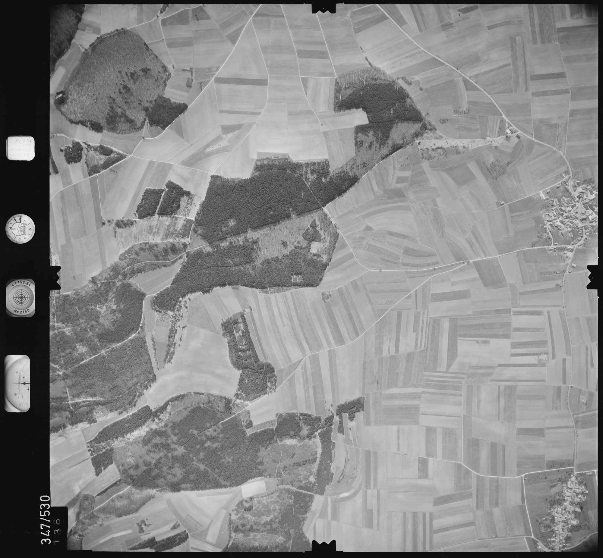 Luftbild: Film 45 Bildnr. 136, Bild 1