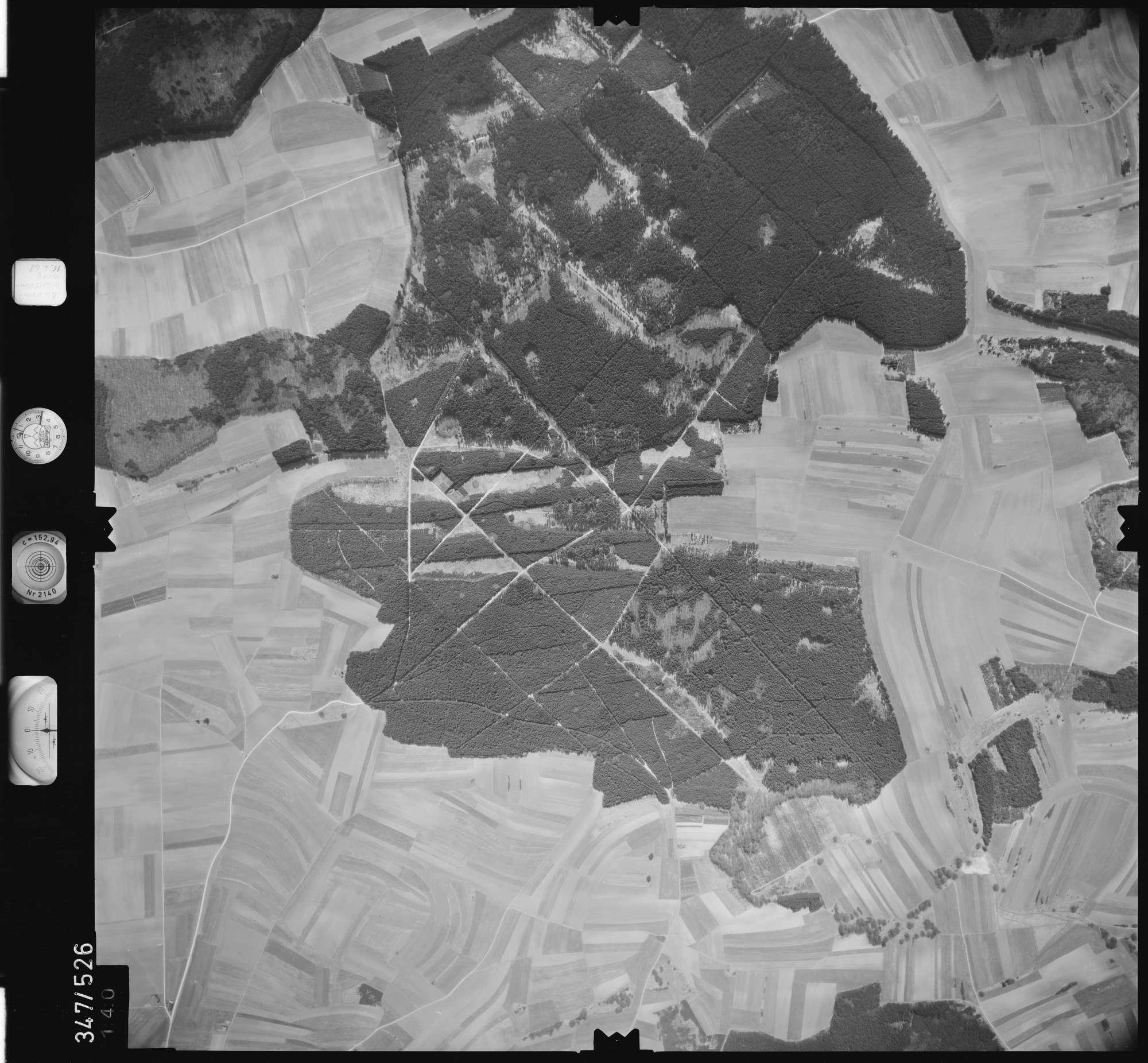 Luftbild: Film 45 Bildnr. 140, Bild 1