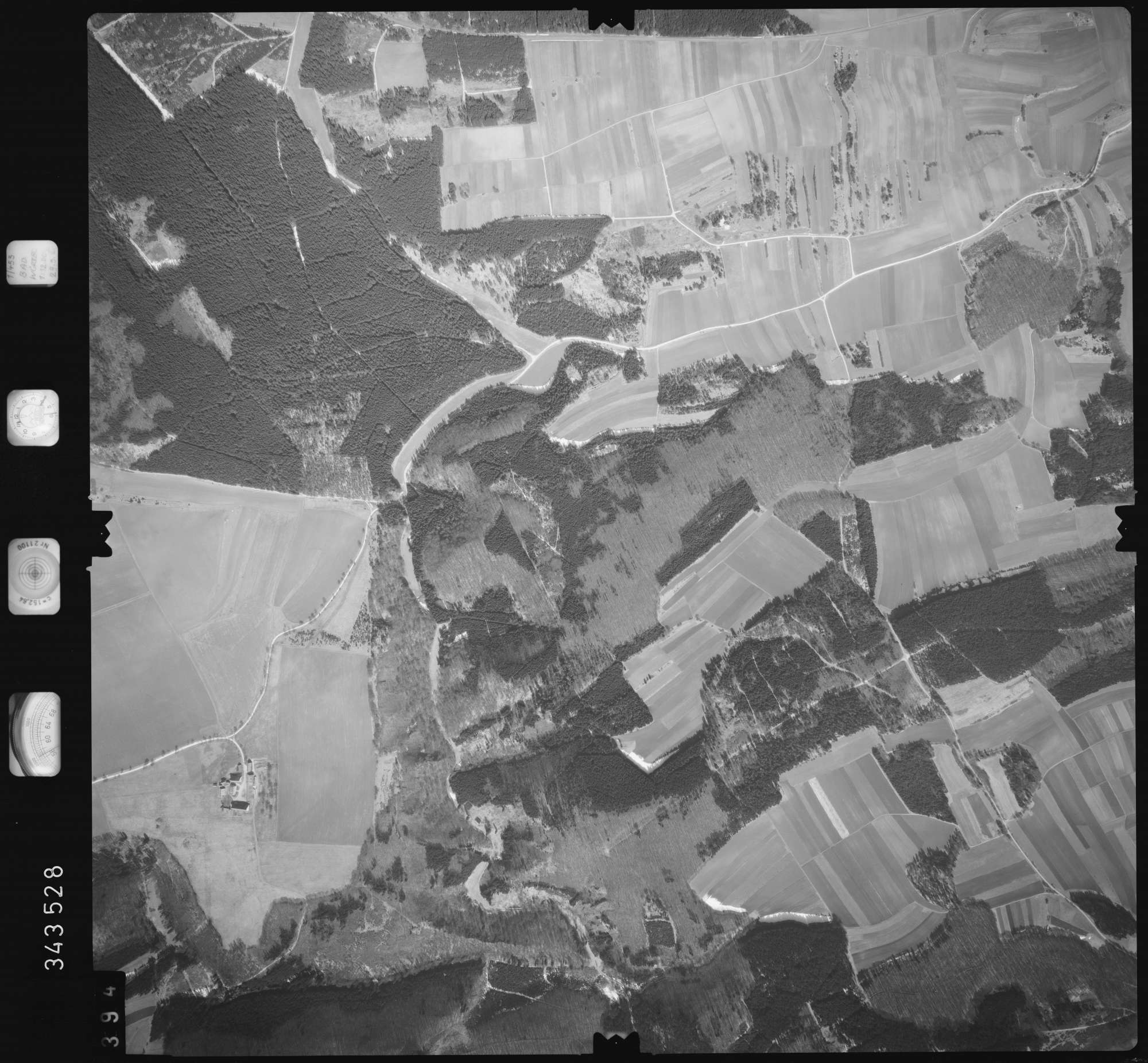 Luftbild: Film 46 Bildnr. 394, Bild 1