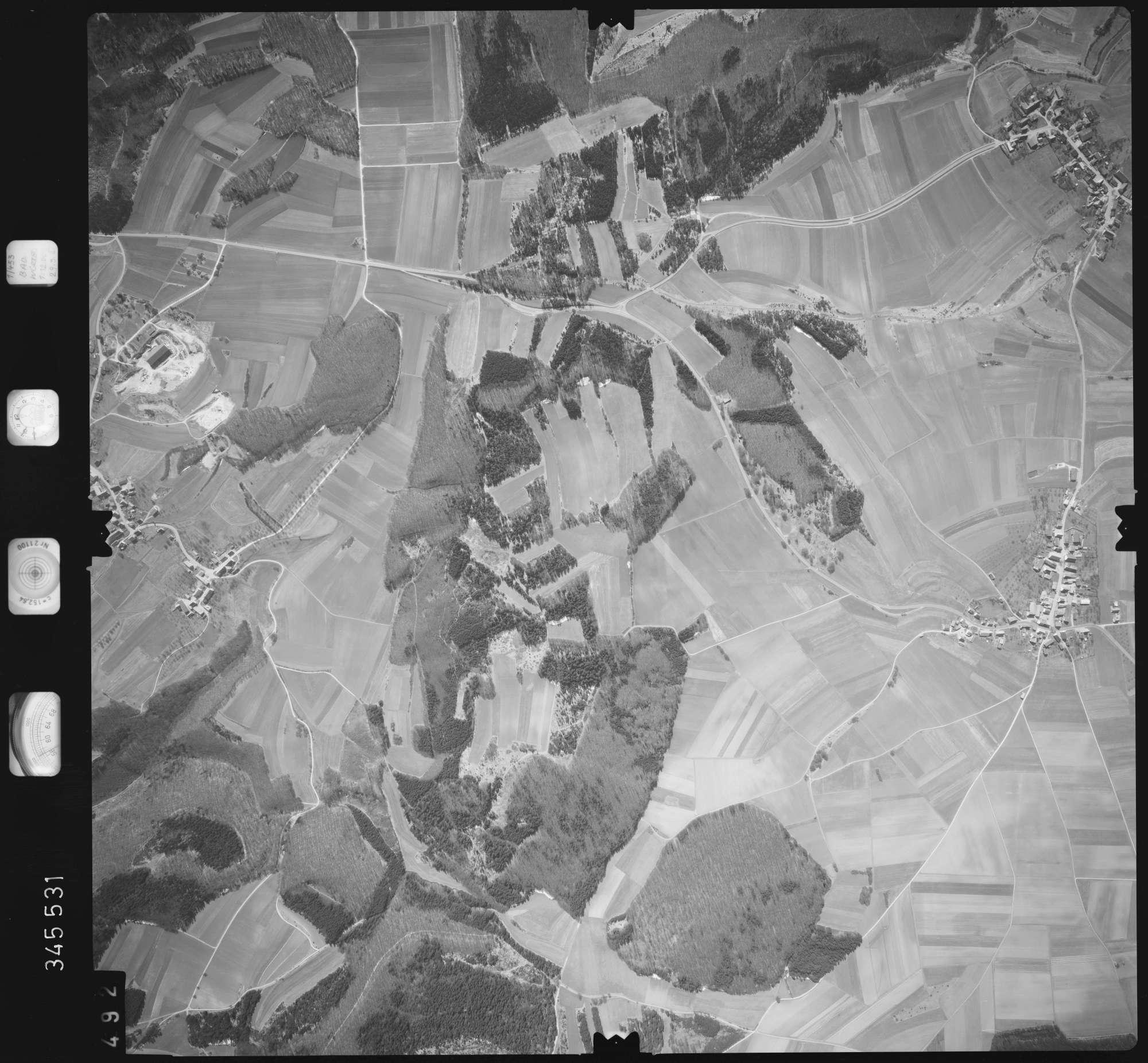 Luftbild: Film 46 Bildnr. 492, Bild 1