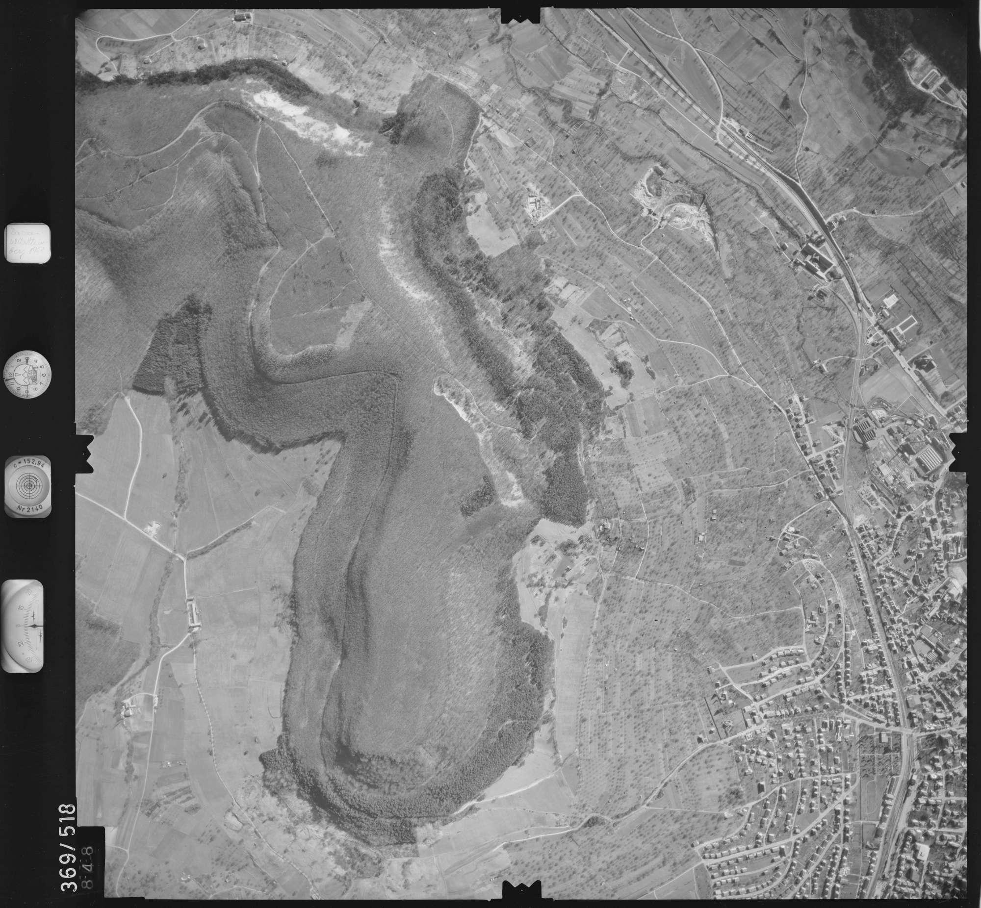 Luftbild: Film 33 Bildnr. 848, Bild 1