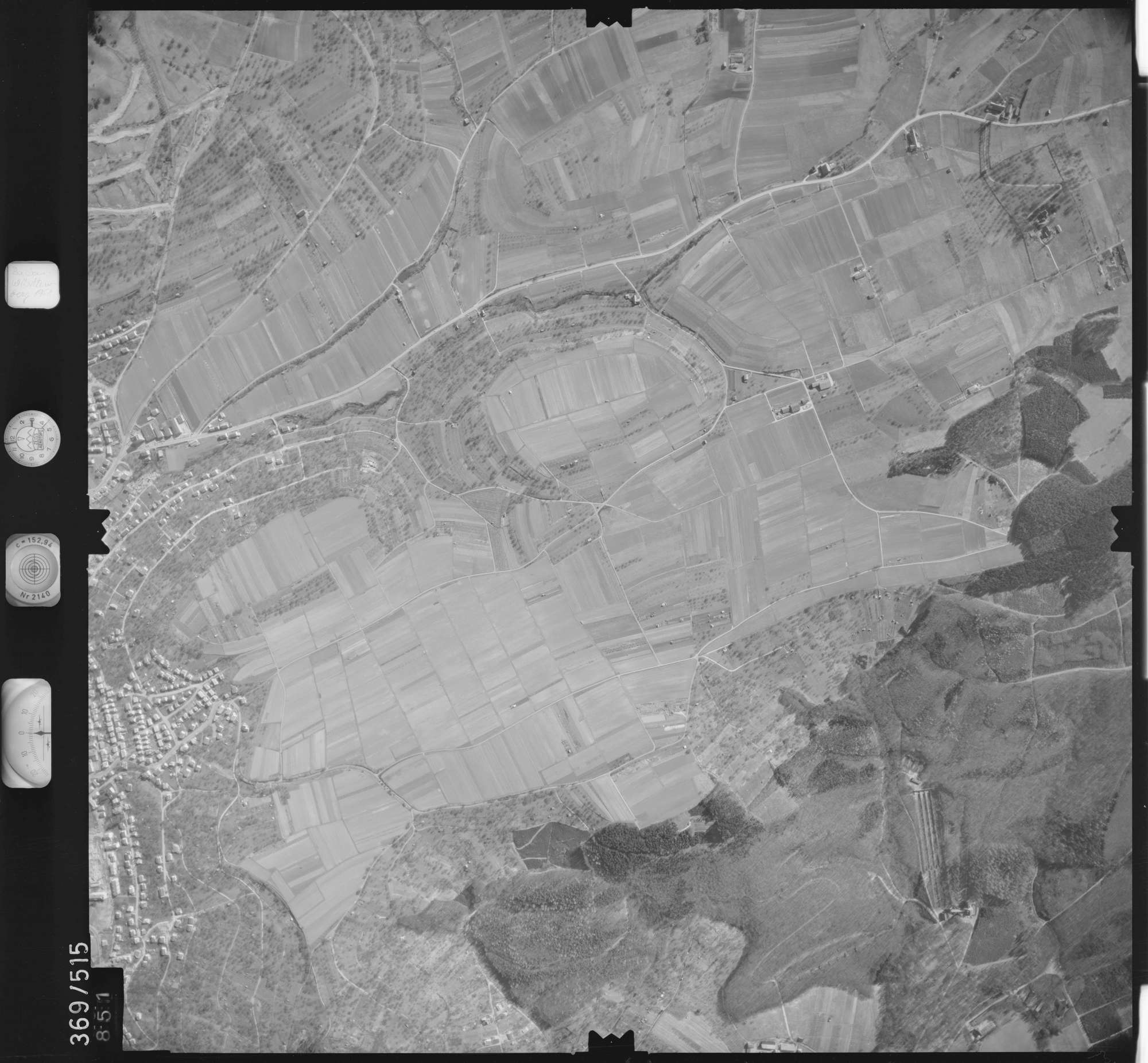 Luftbild: Film 33 Bildnr. 851, Bild 1