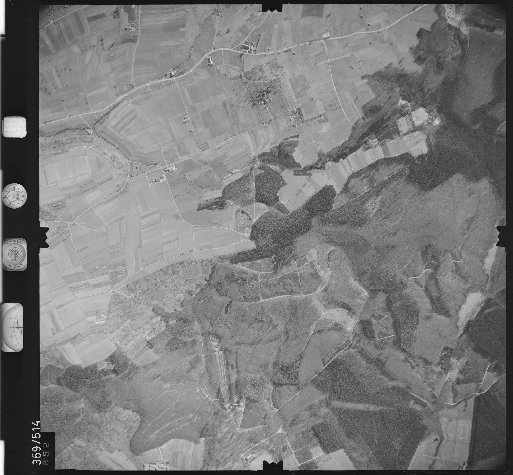 Luftbild: Film 33 Bildnr. 852, Bild 1