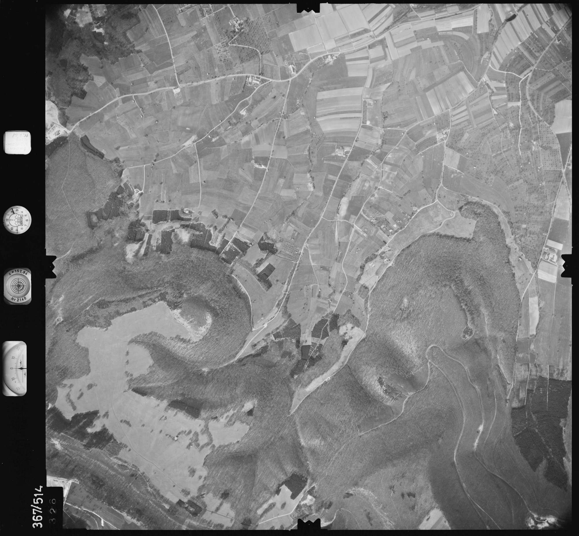Luftbild: Film 34 Bildnr. 326, Bild 1