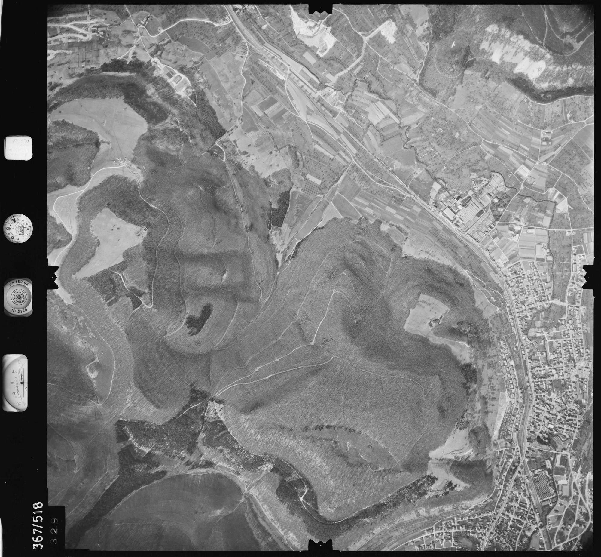 Luftbild: Film 34 Bildnr. 329, Bild 1