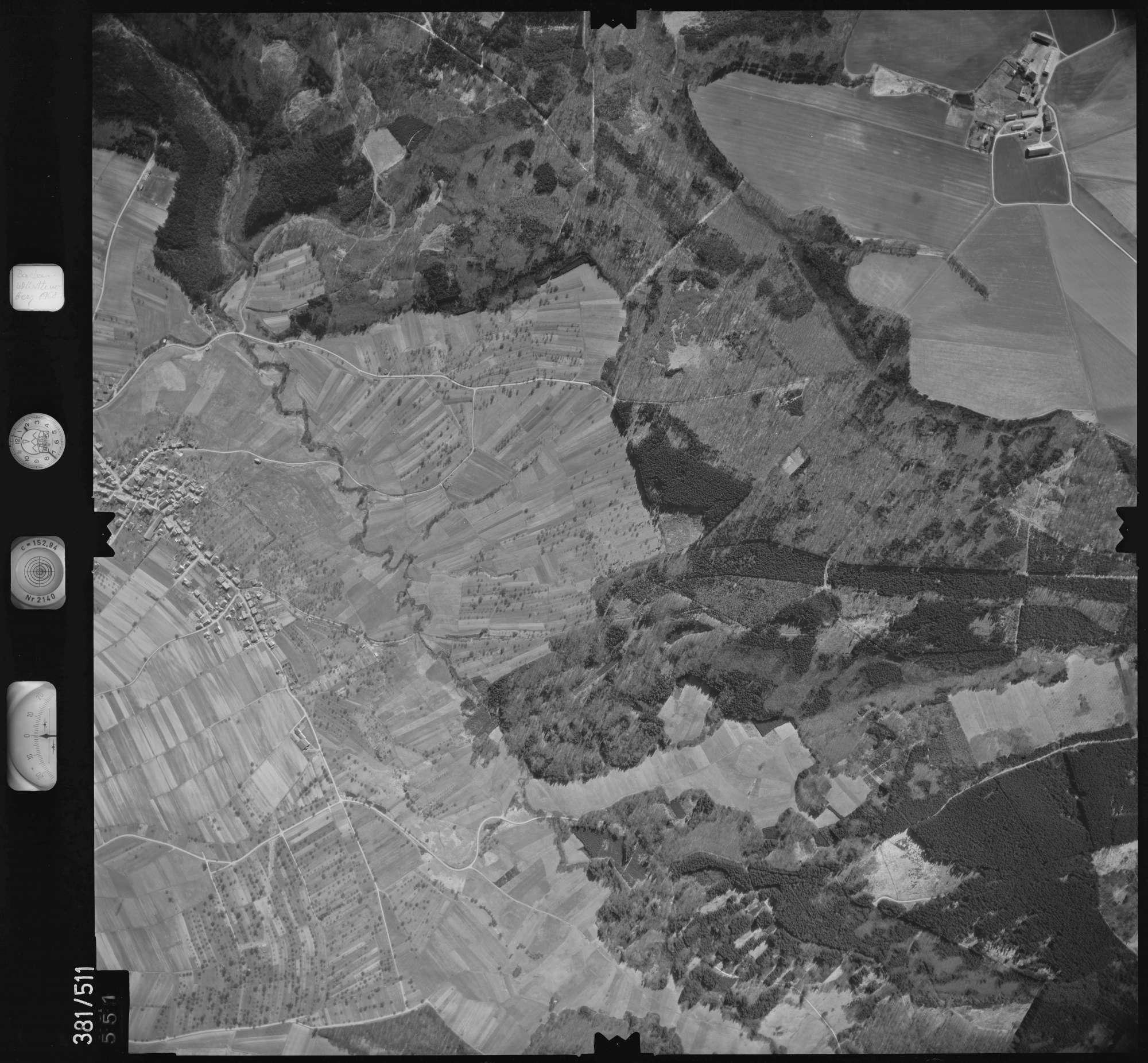 Luftbild: Film 31 Bildnr. 551, Bild 1