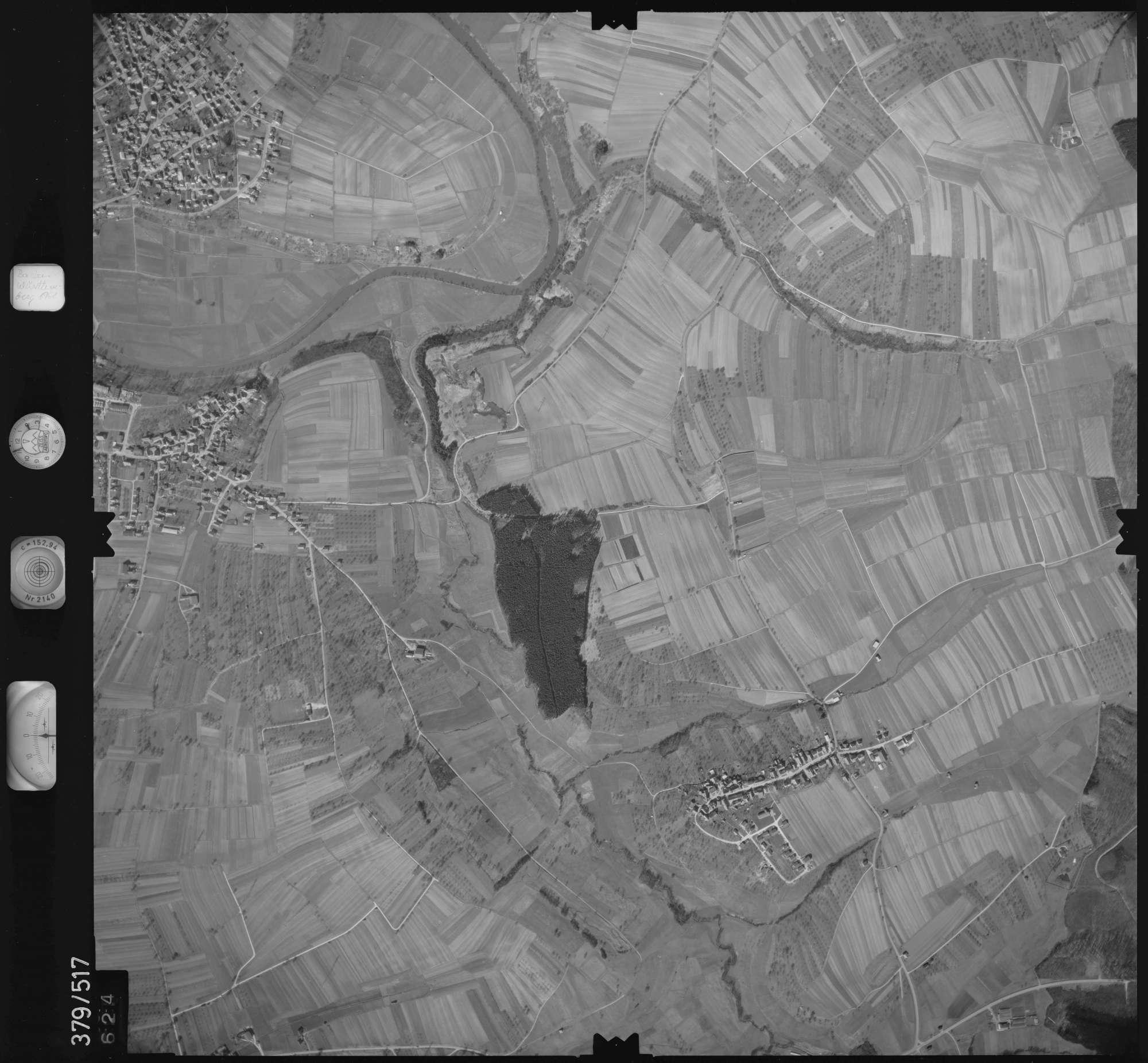 Luftbild: Film 31 Bildnr. 624, Bild 1