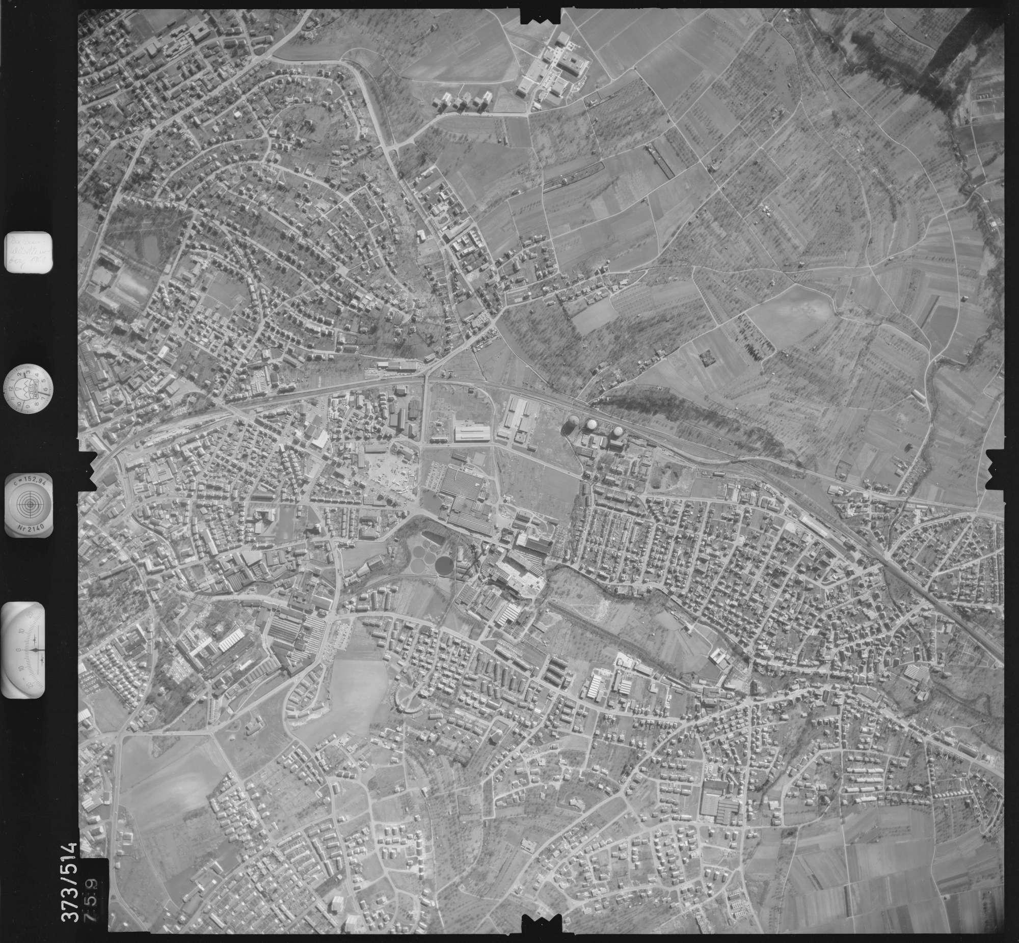 Luftbild: Film 33 Bildnr. 759, Bild 1