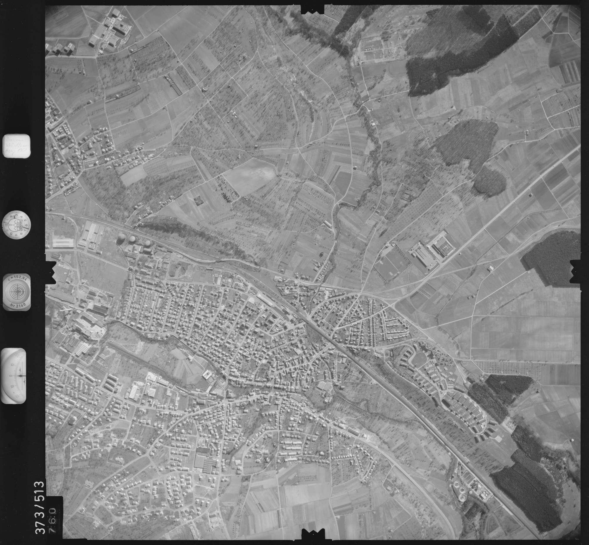 Luftbild: Film 33 Bildnr. 760, Bild 1