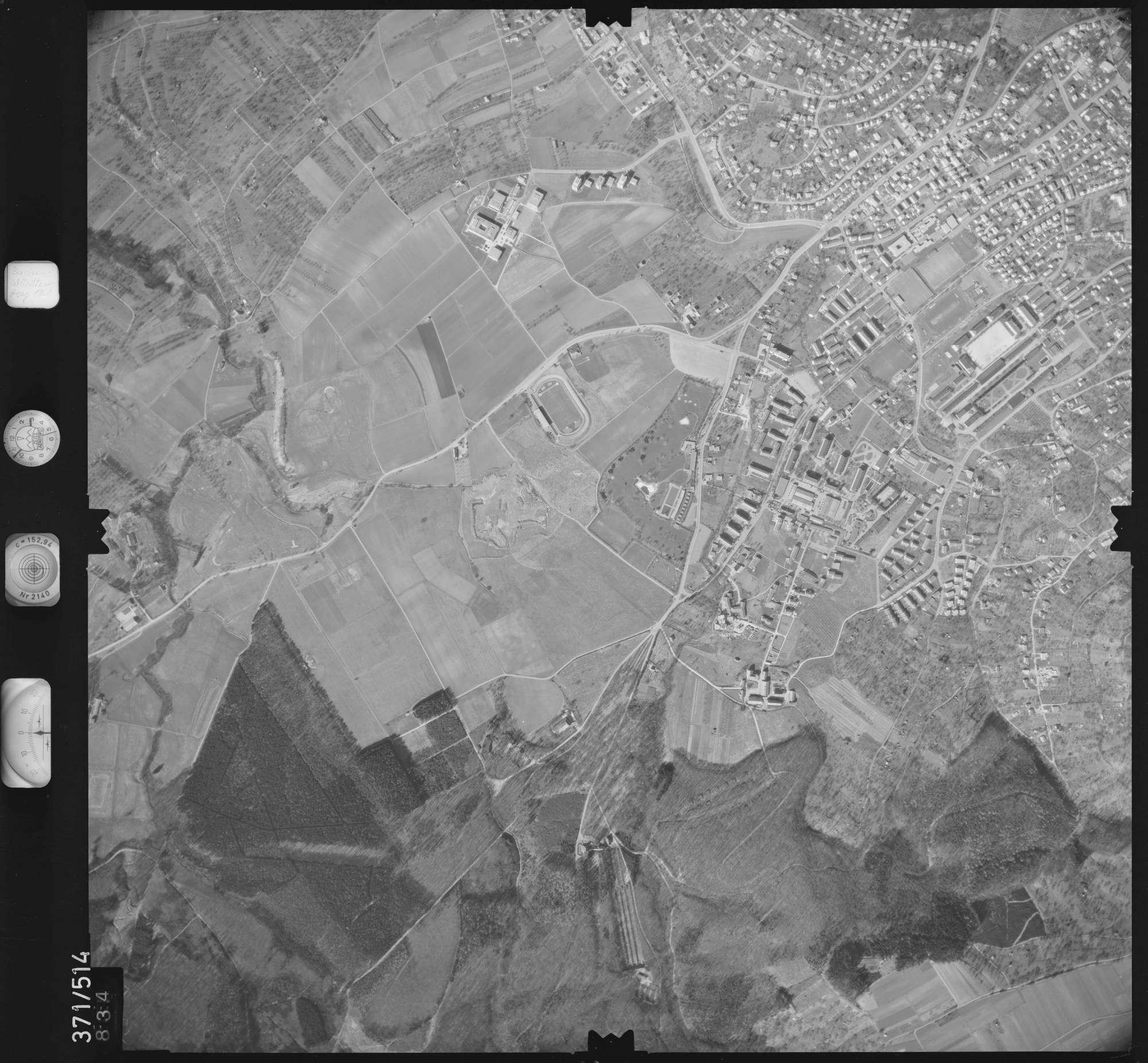 Luftbild: Film 33 Bildnr. 834, Bild 1