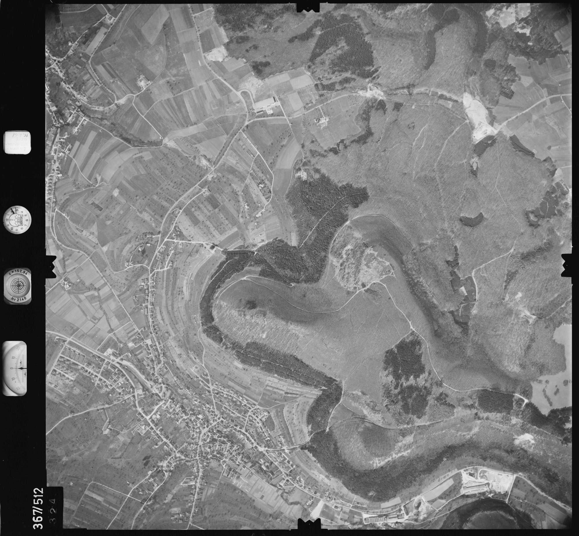 Luftbild: Film 34 Bildnr. 324, Bild 1