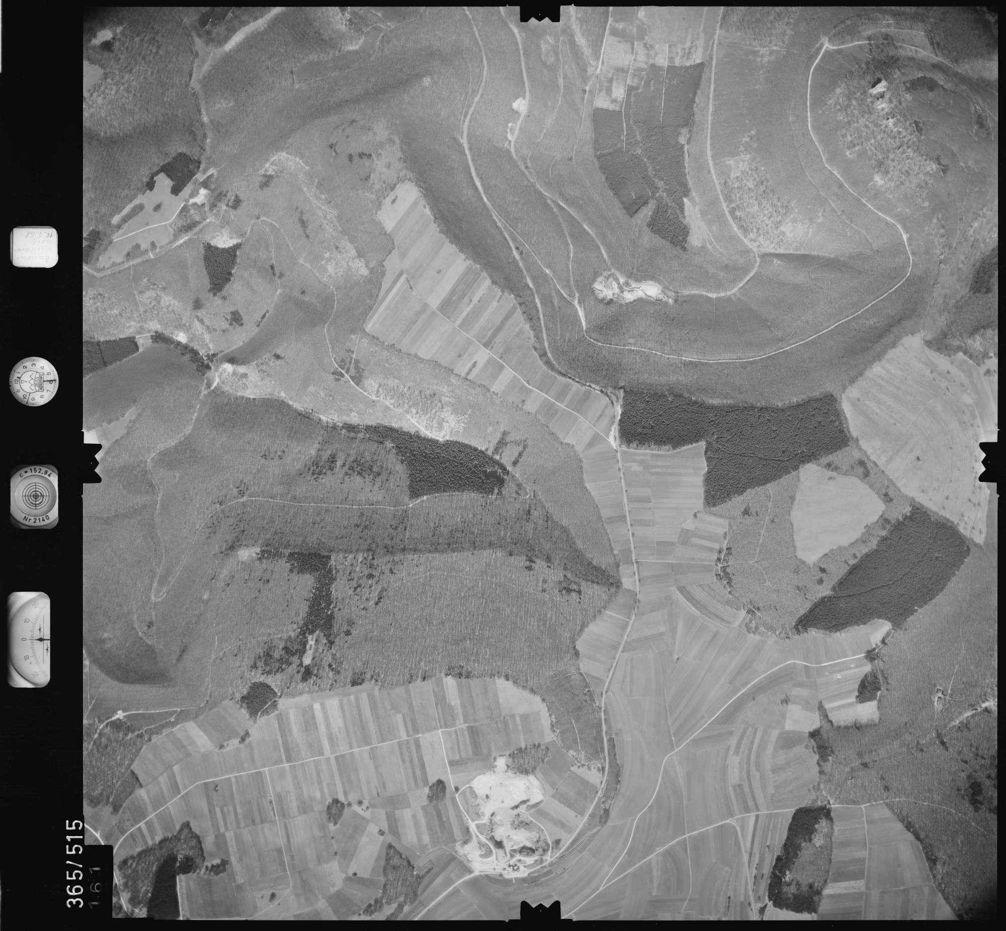Luftbild: Film 45 Bildnr. 161, Bild 1